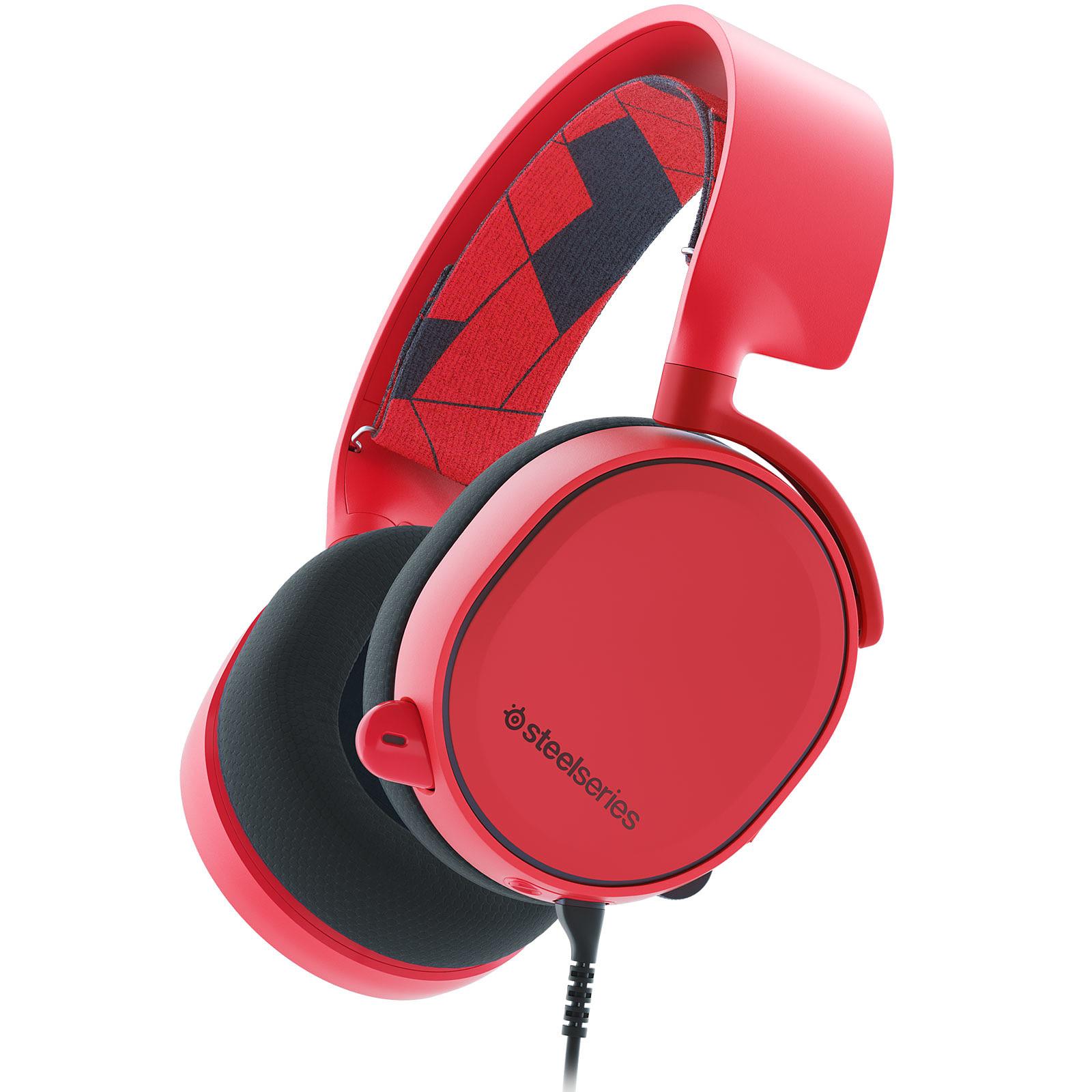 SteelSeries Arctis 3 (rouge)