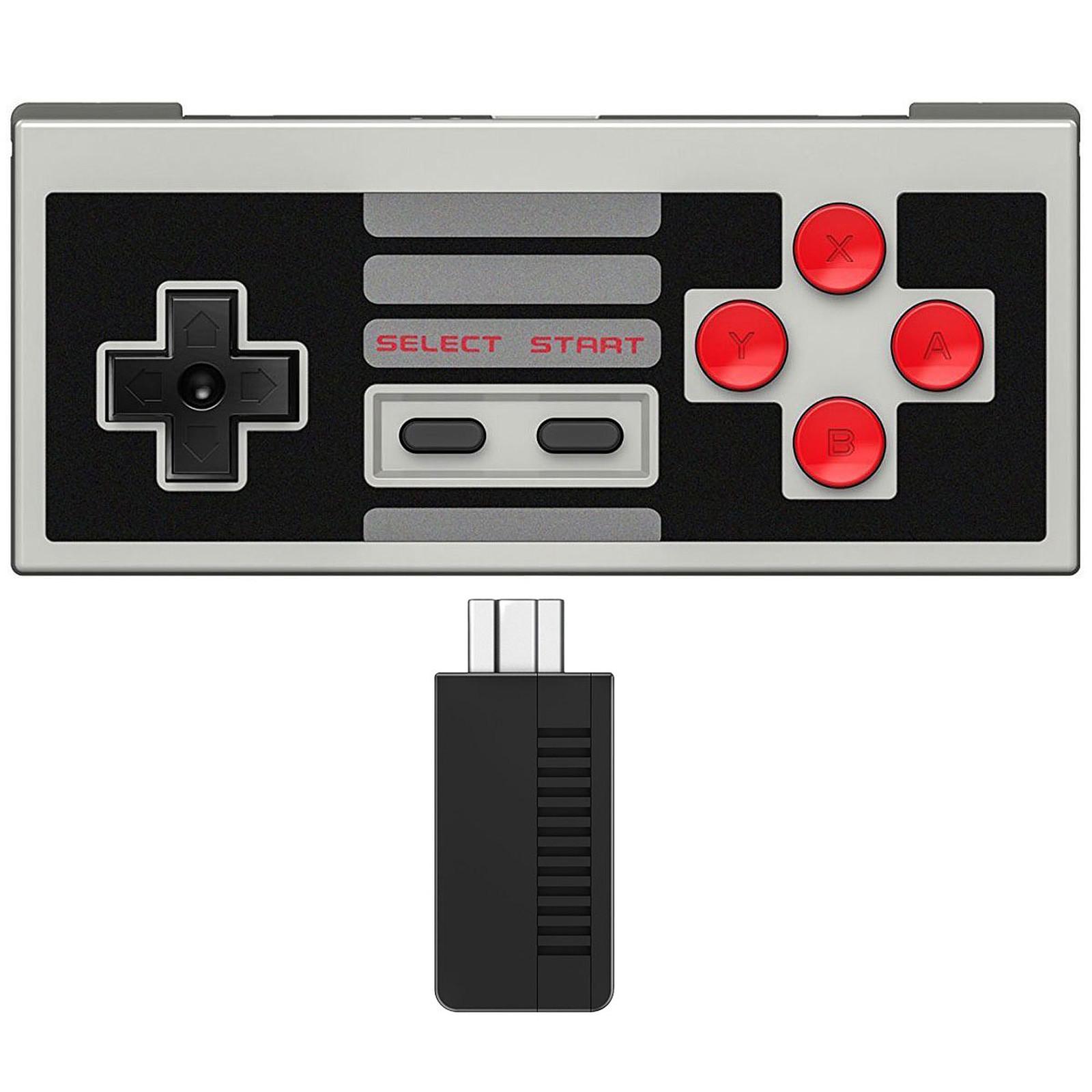 8Bitdo NES30 + récepteur NES Mini
