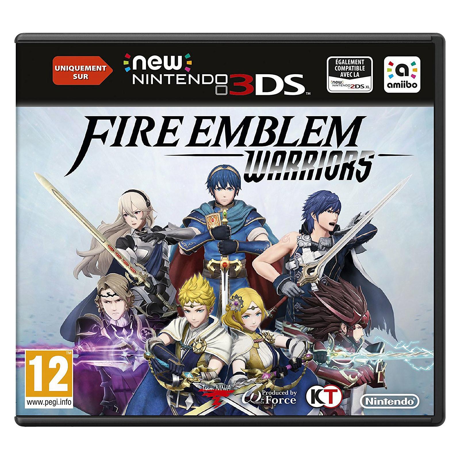 Fire Emblem Warriors New Nintendo 3ds 3ds Xl 2ds Xl Juegos