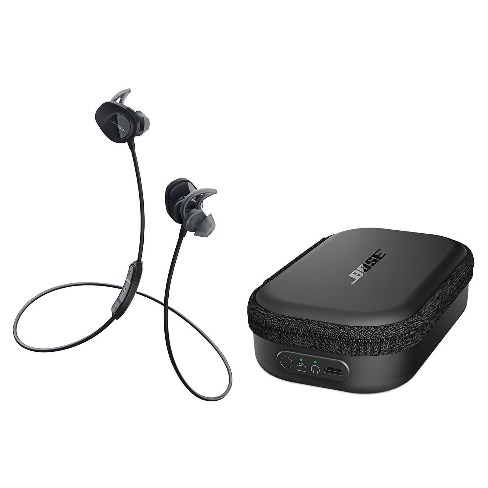 Bose SoundSport wireless Noir + Étui de chargement