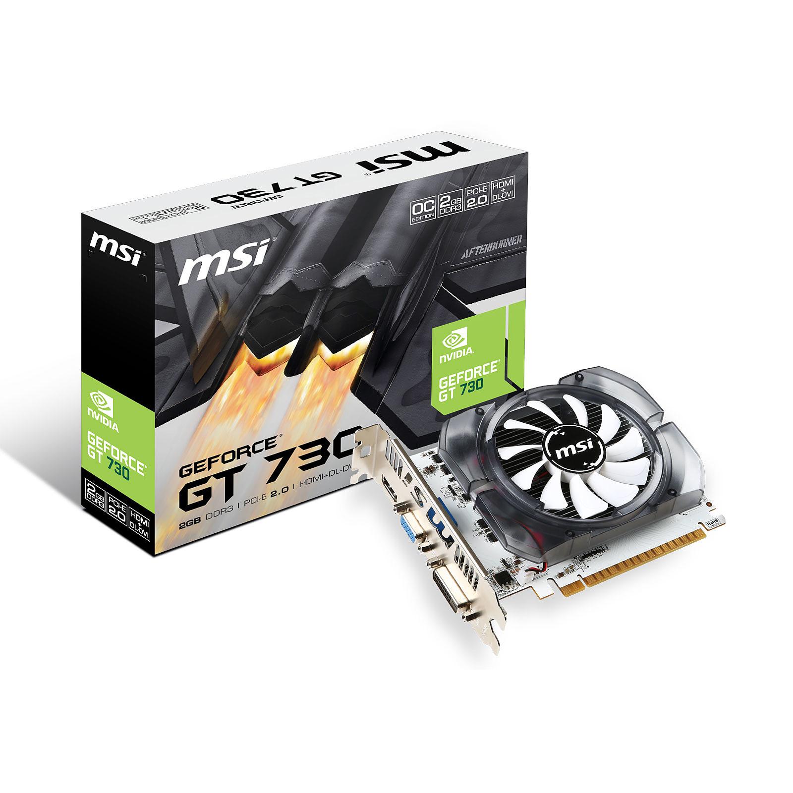 MSI GeForce GT 730 N730K-2GD3/OCV1