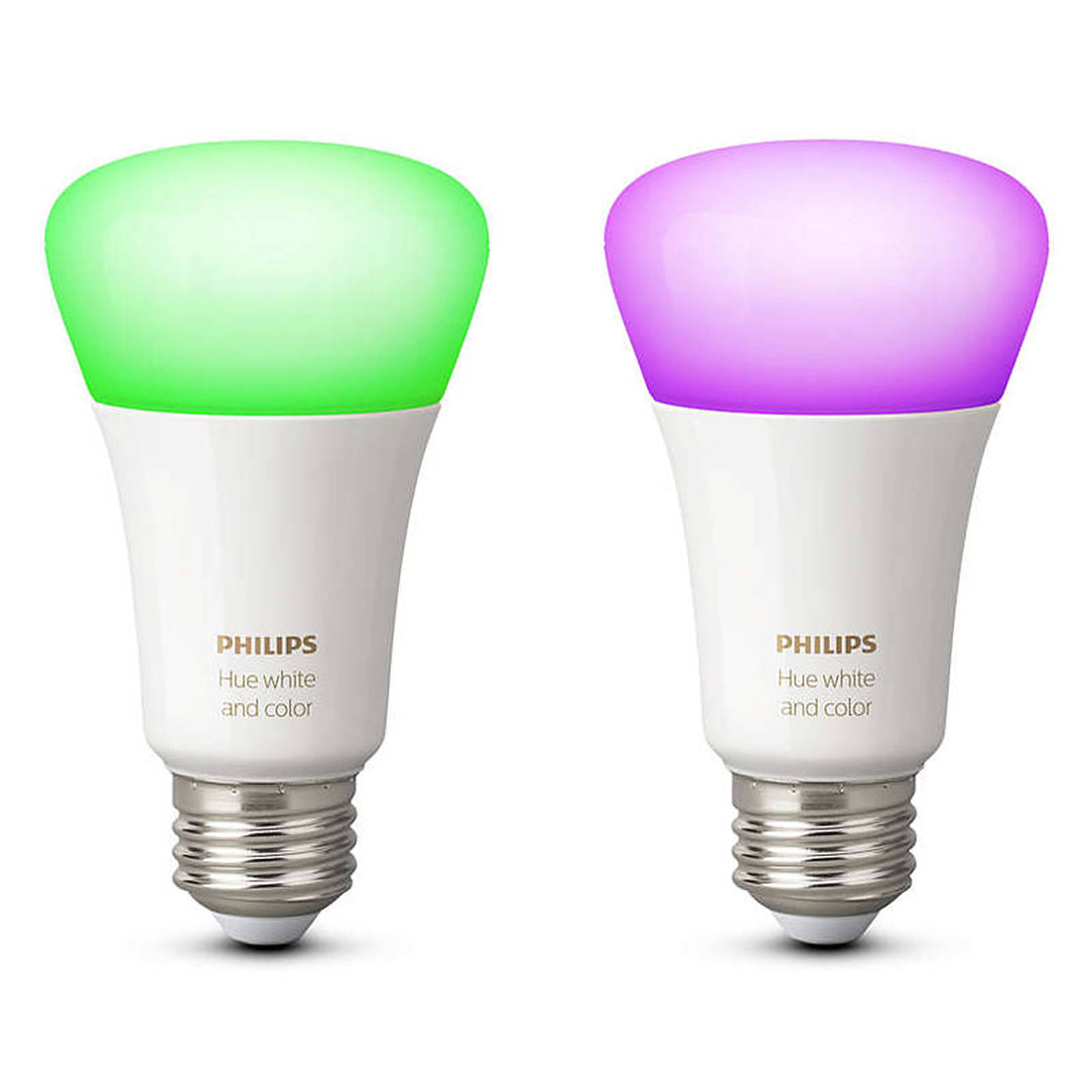 philips hue white color ambiance duobox e27 ampoule connect e philips sur. Black Bedroom Furniture Sets. Home Design Ideas