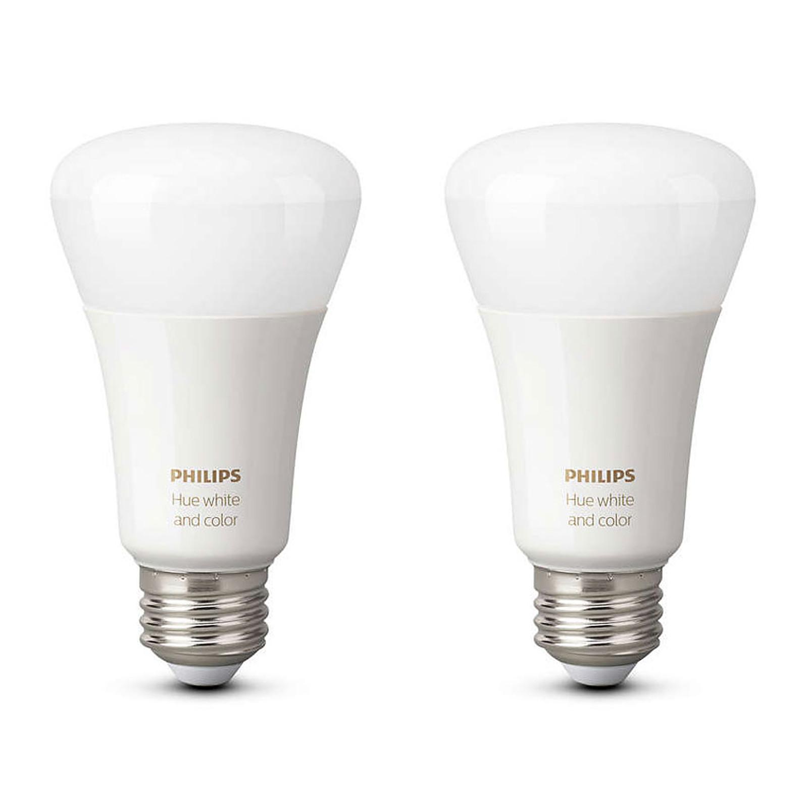 philips hue white color ambiance duobox e27 ampoule. Black Bedroom Furniture Sets. Home Design Ideas