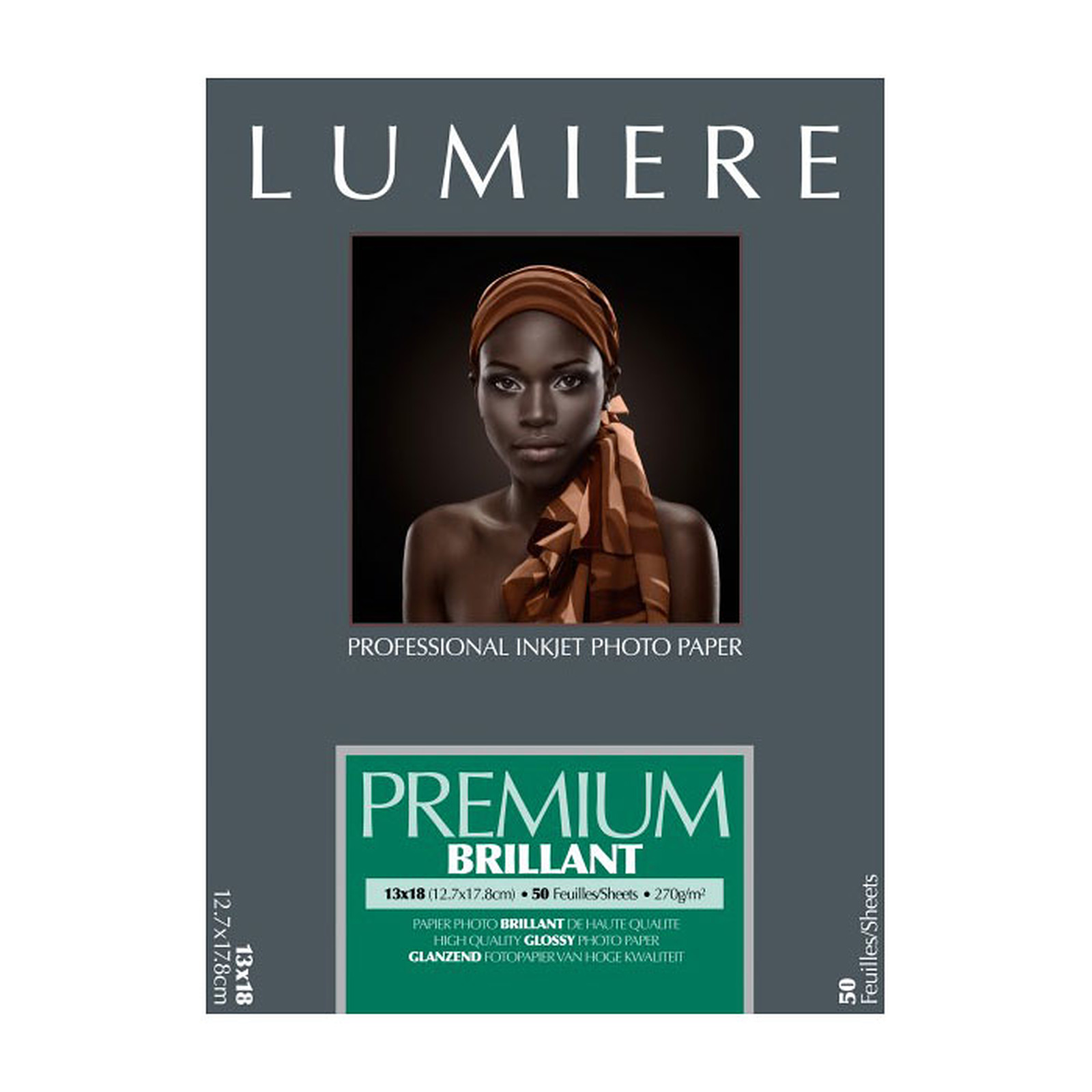 Lumière Premium Brillant 270 12,7 x 17,8