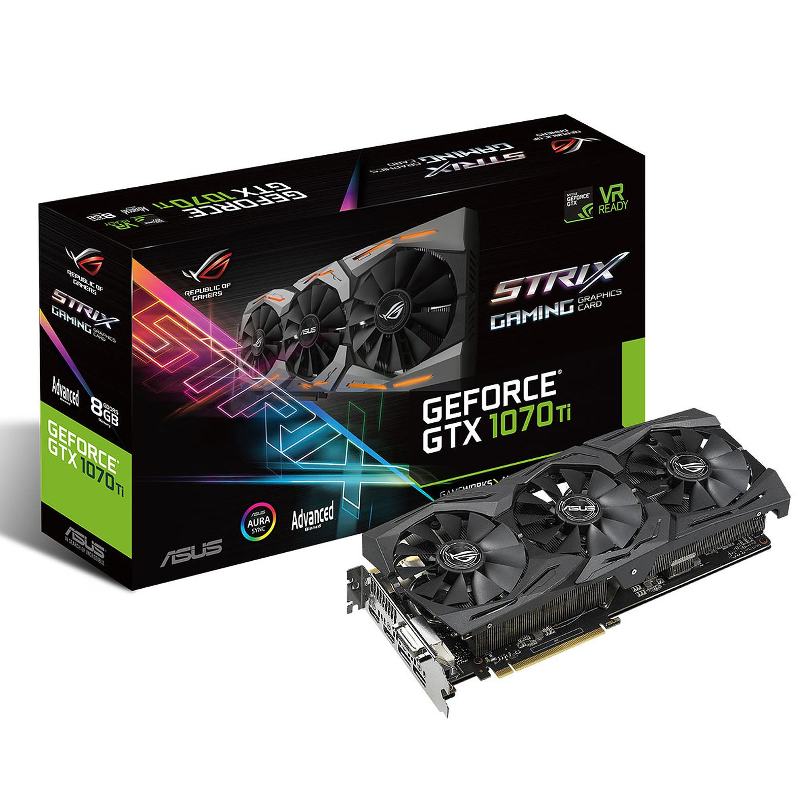 ASUS GeForce GTX 1070 Ti ROG-STRIX-GTX1070Ti-A8G-GAMING