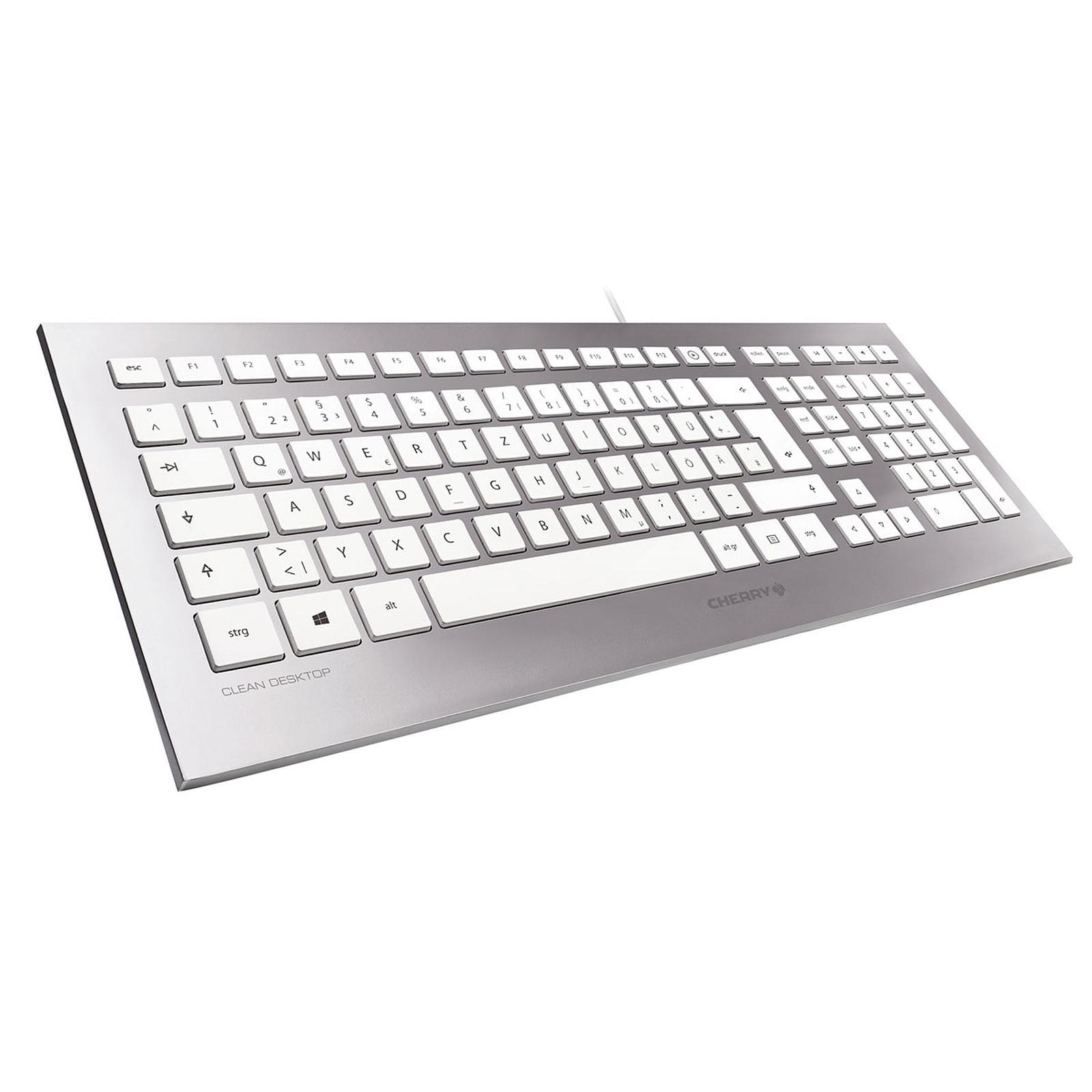 Cherry Strait 3.0 (blanc) Clavier PC Cherry sur