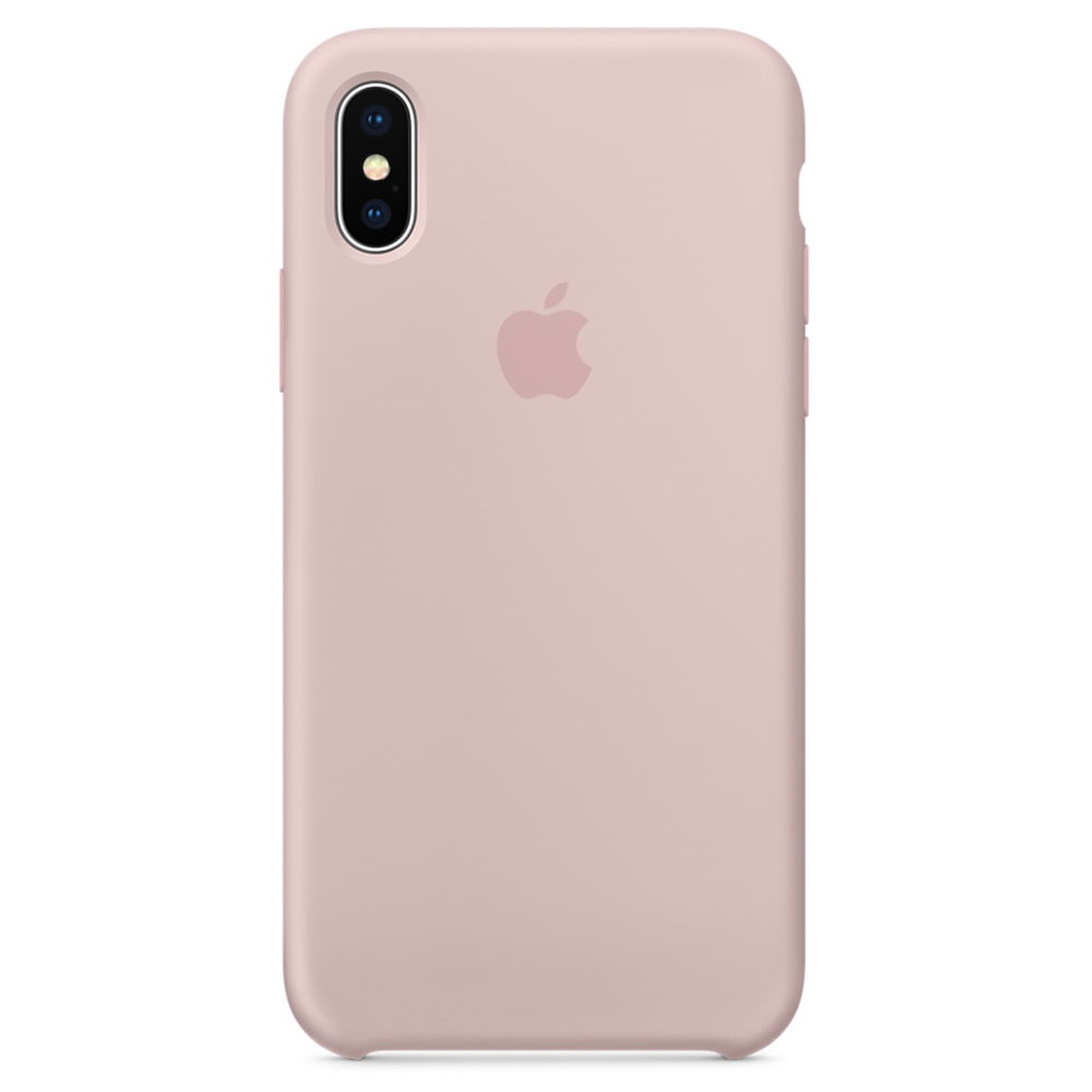 coque silicone iphone x rose
