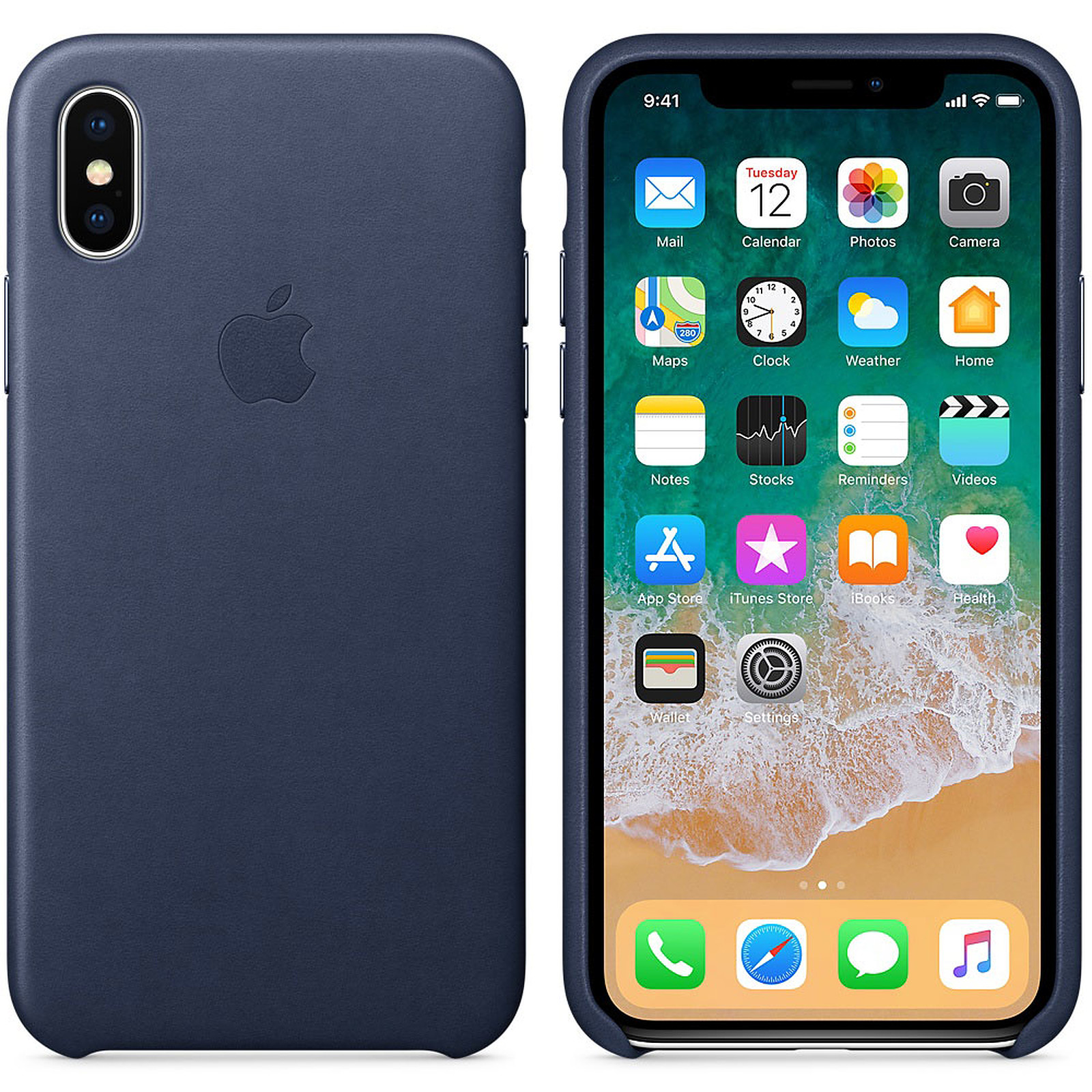 double coque iphone x silicone transparente