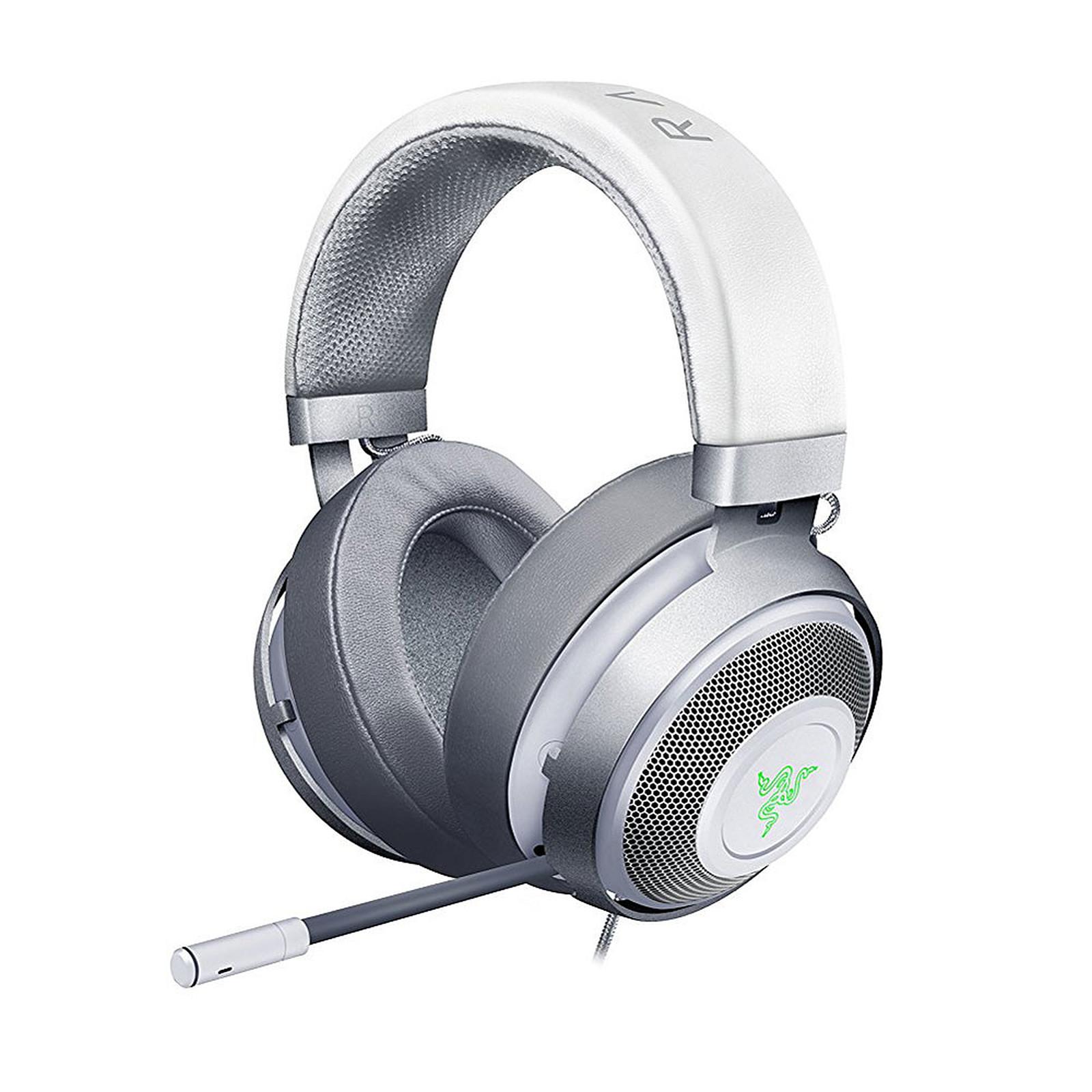 Razer Kraken 7.1 v2 Oval (Mercury) Auriculares microfono
