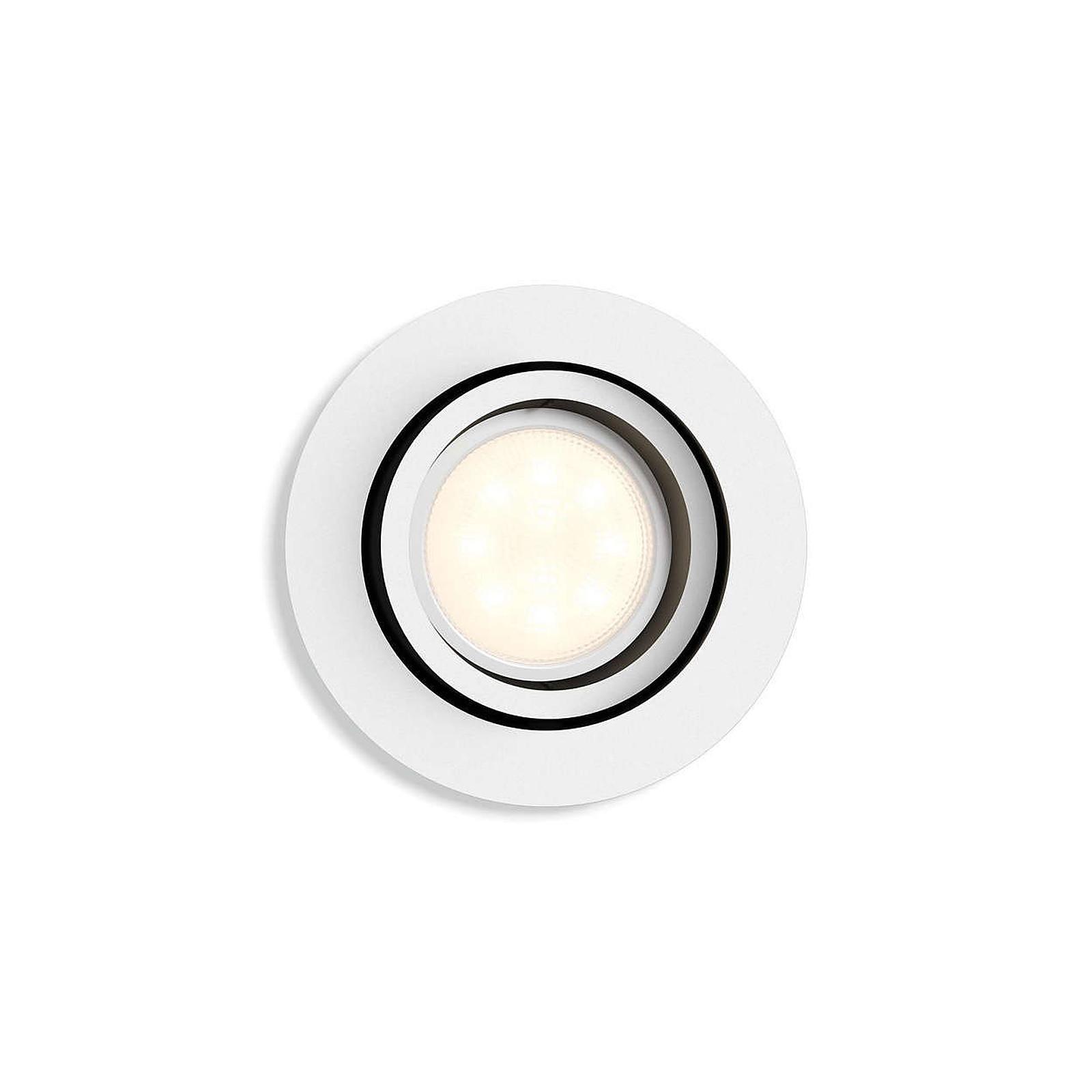 Philips White ambiance Milliskin Spot à encastrer