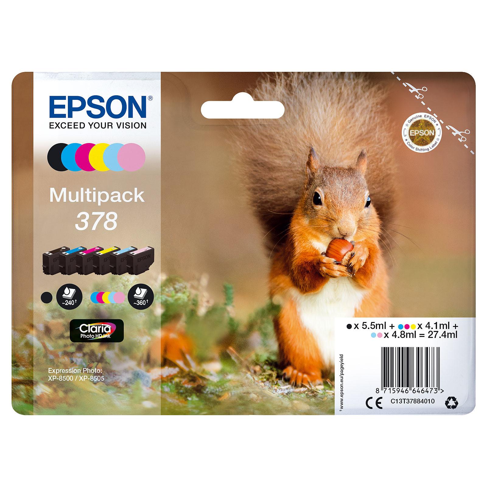 Epson Ecureuil Multipack 378