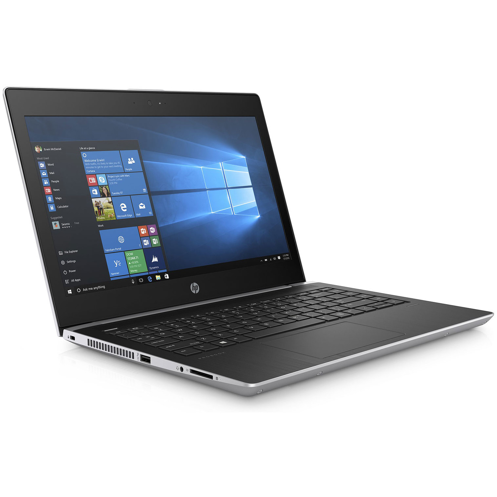 35766cd6f4073 HP ProBook 430 G5 (2VQ32EA) Intel Core i7-8550U 8 Go SSD 512 · PC portable  ...