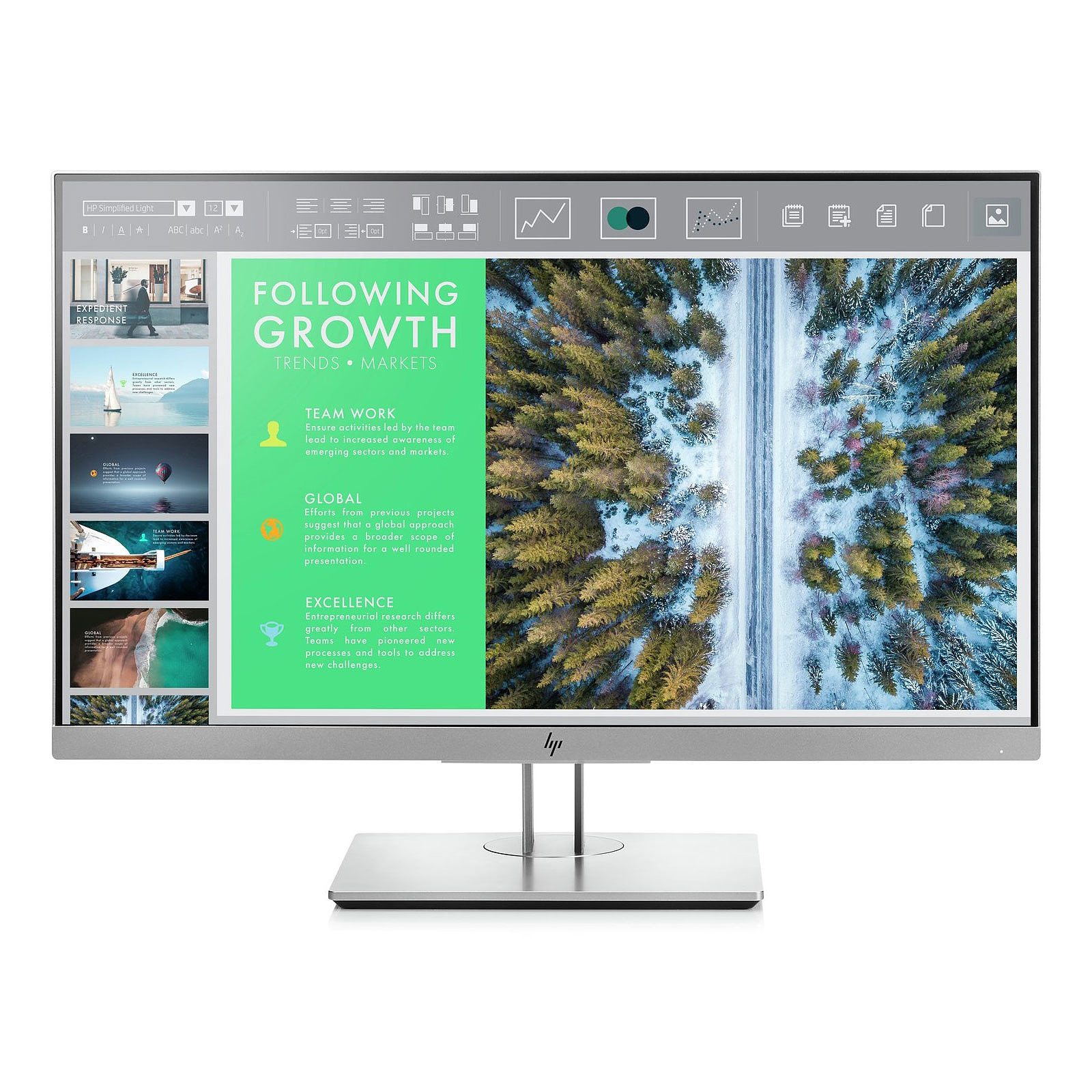 "HP 23.8"" LED - EliteDisplay E243"