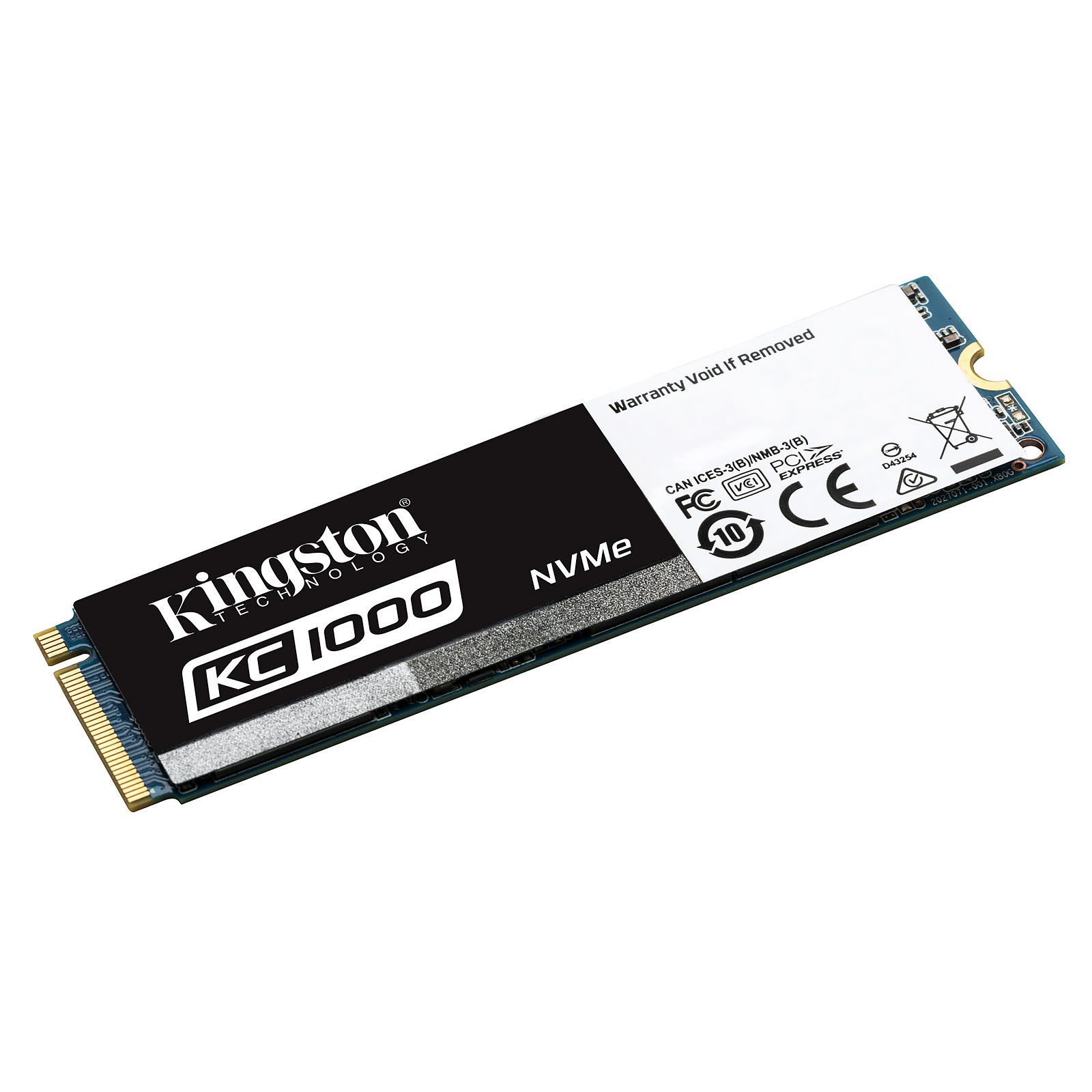 Kingston KC1000 M.2 PCIe NVMe 240 Go