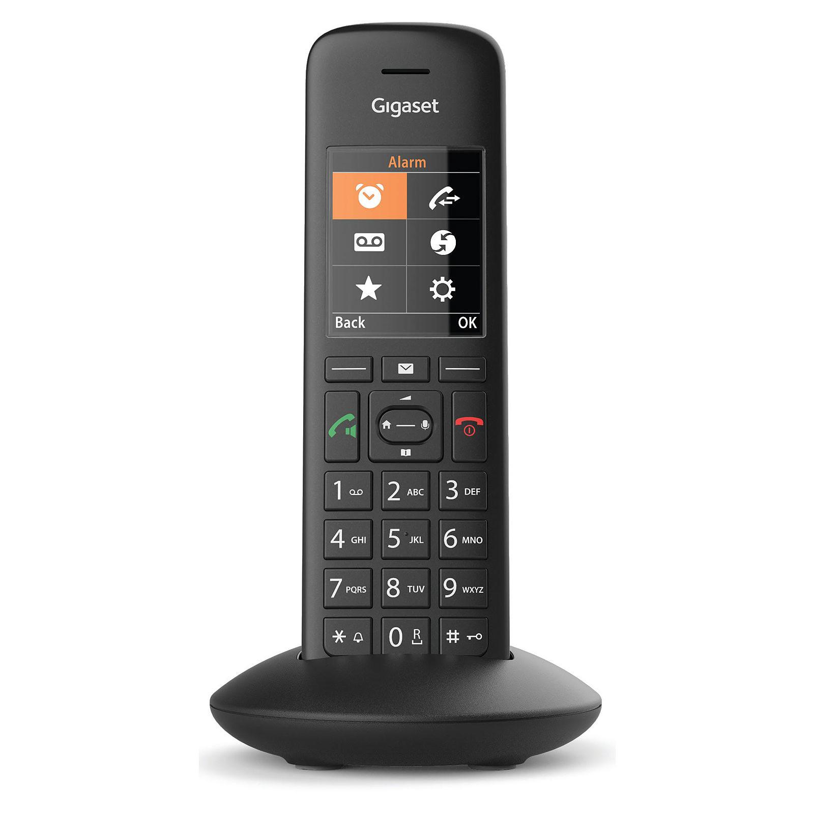 Gigaset C570hx Solo Noir Téléphone Sans Fil Gigaset Sur Ldlccom