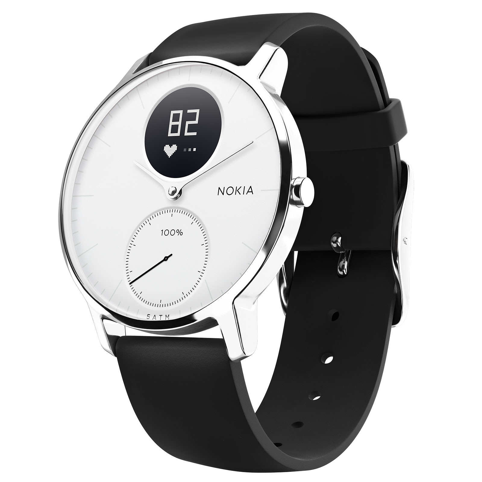 Withings Nokia Steel HR 36 mm Blanc