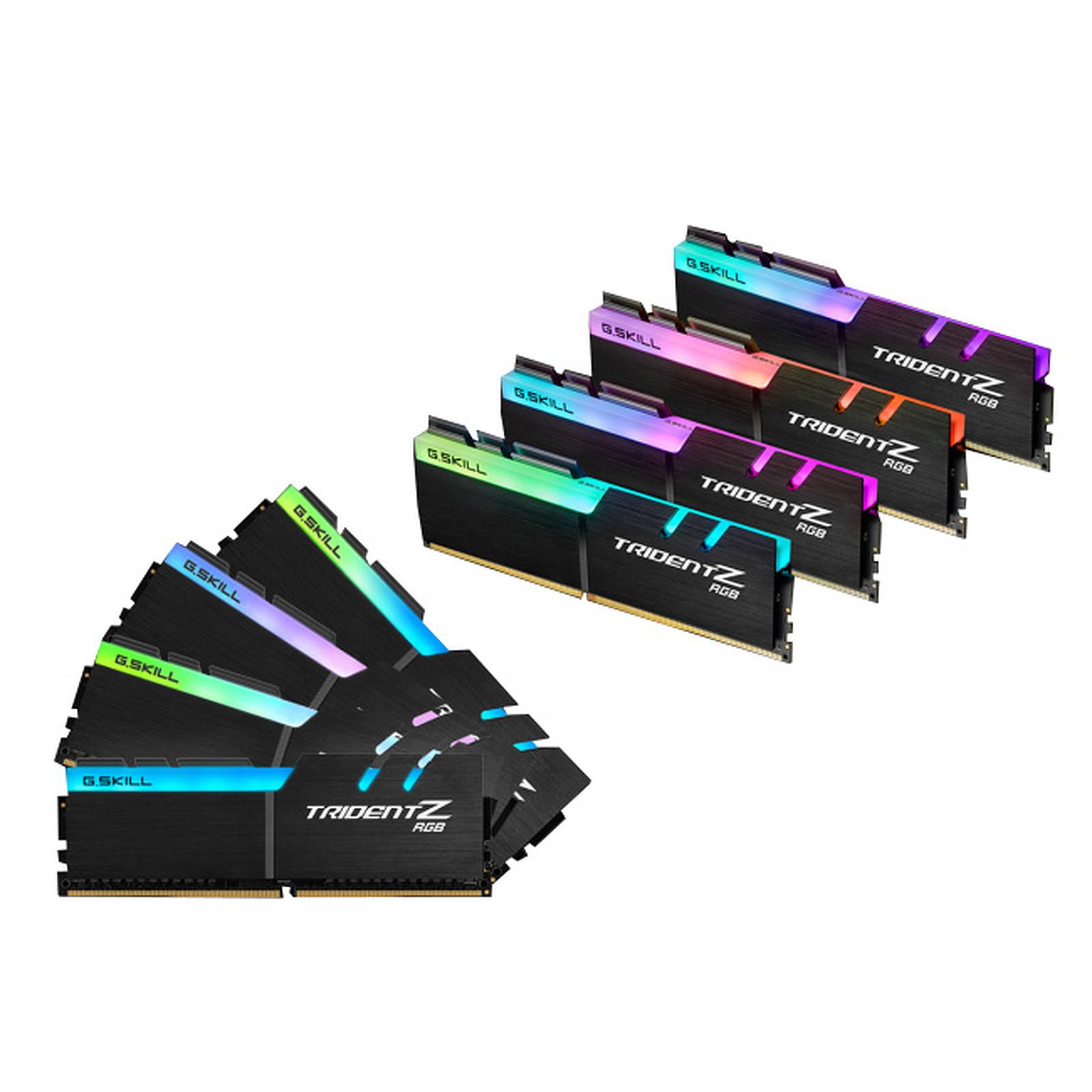 G.Skill Trident Z RGB 128 Go (8x 16 Go) DDR4 2933 MHz CL16
