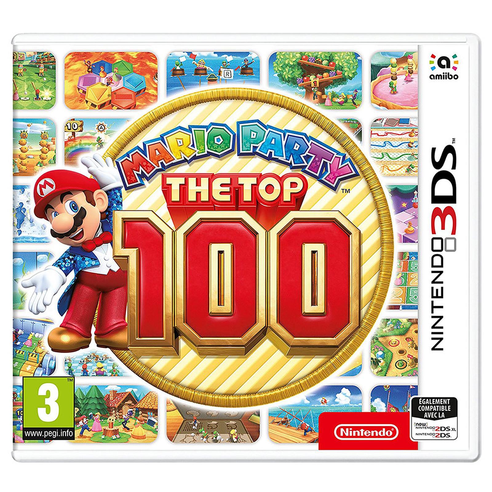 Mario Party Los 100 Mejores Nintendo 3ds Juegos Nintendo 3ds