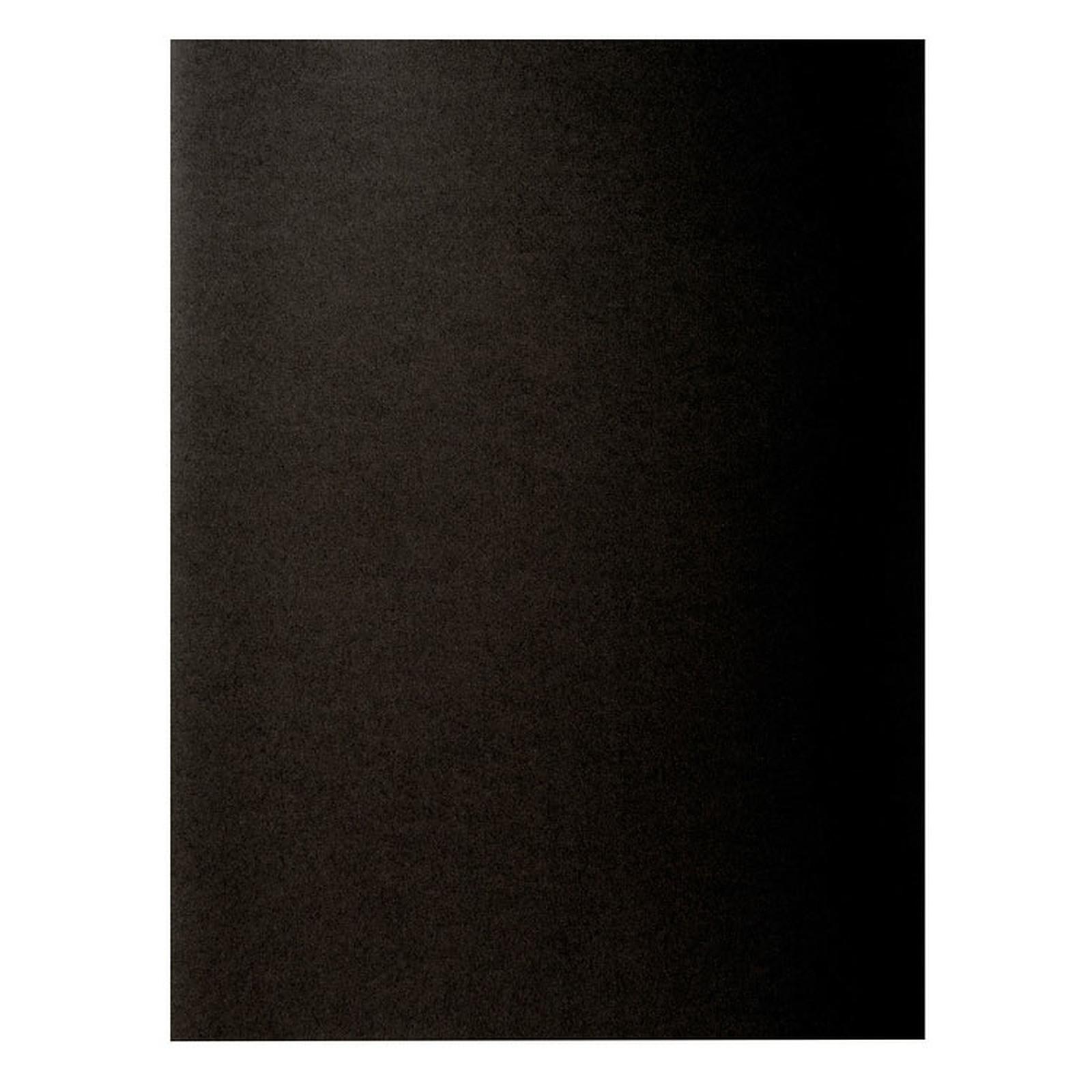 """Exacompta Sous chemises Rock""""s 80 Noir x 100"""