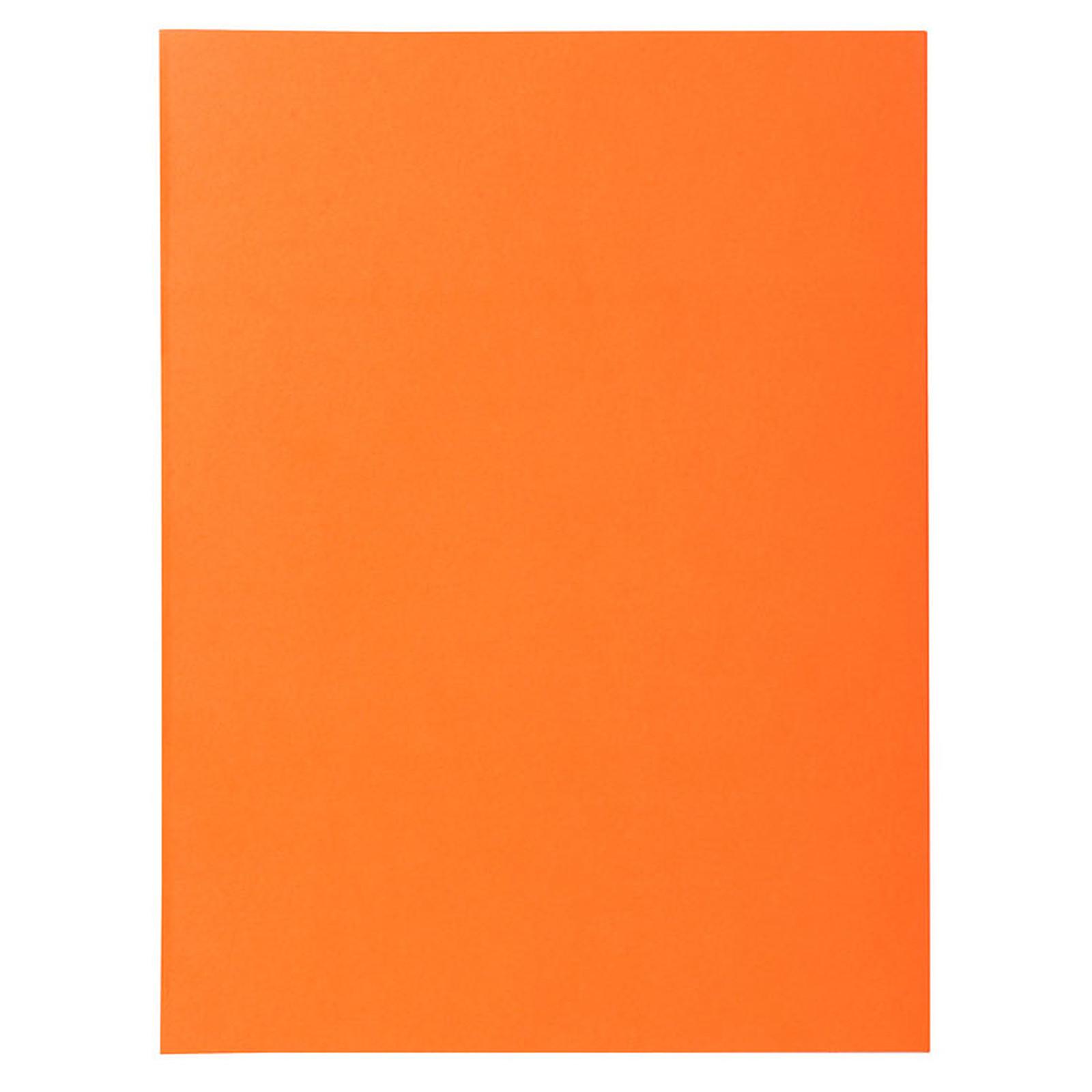 Exacompta Chemises Super Orange x 100