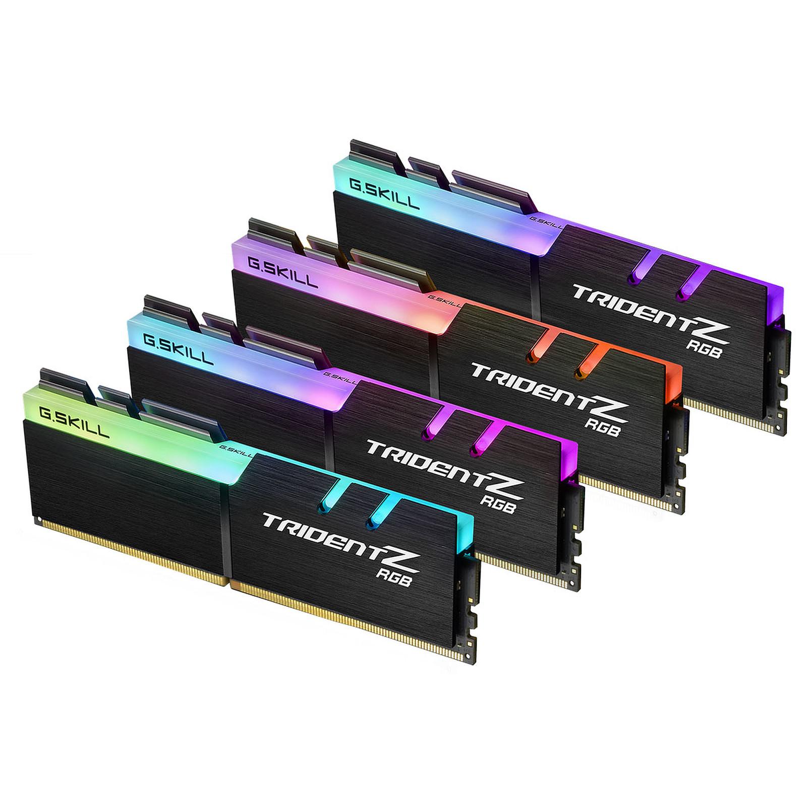 G.Skill Trident Z RGB 64 Go (4x 16 Go) DDR4 3733 MHz CL17