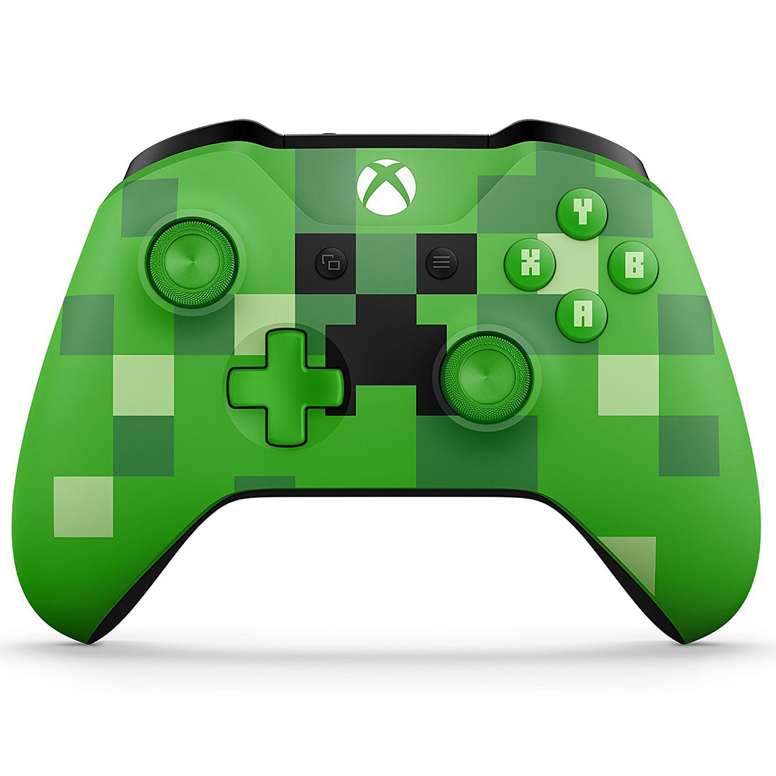 Microsoft Xbox One Wireless Controller Minecraft Creeper