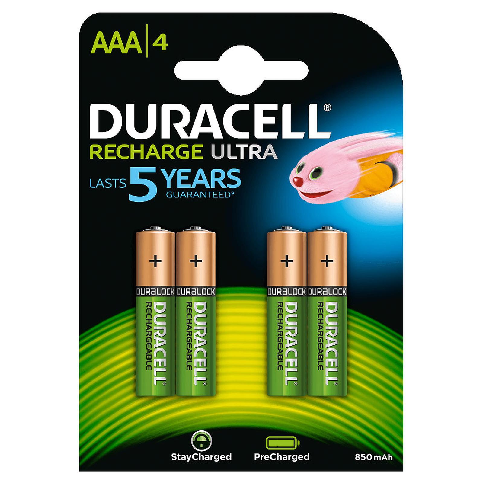 Duracell Recharge Ultra AAA 850 mAh (par 4)