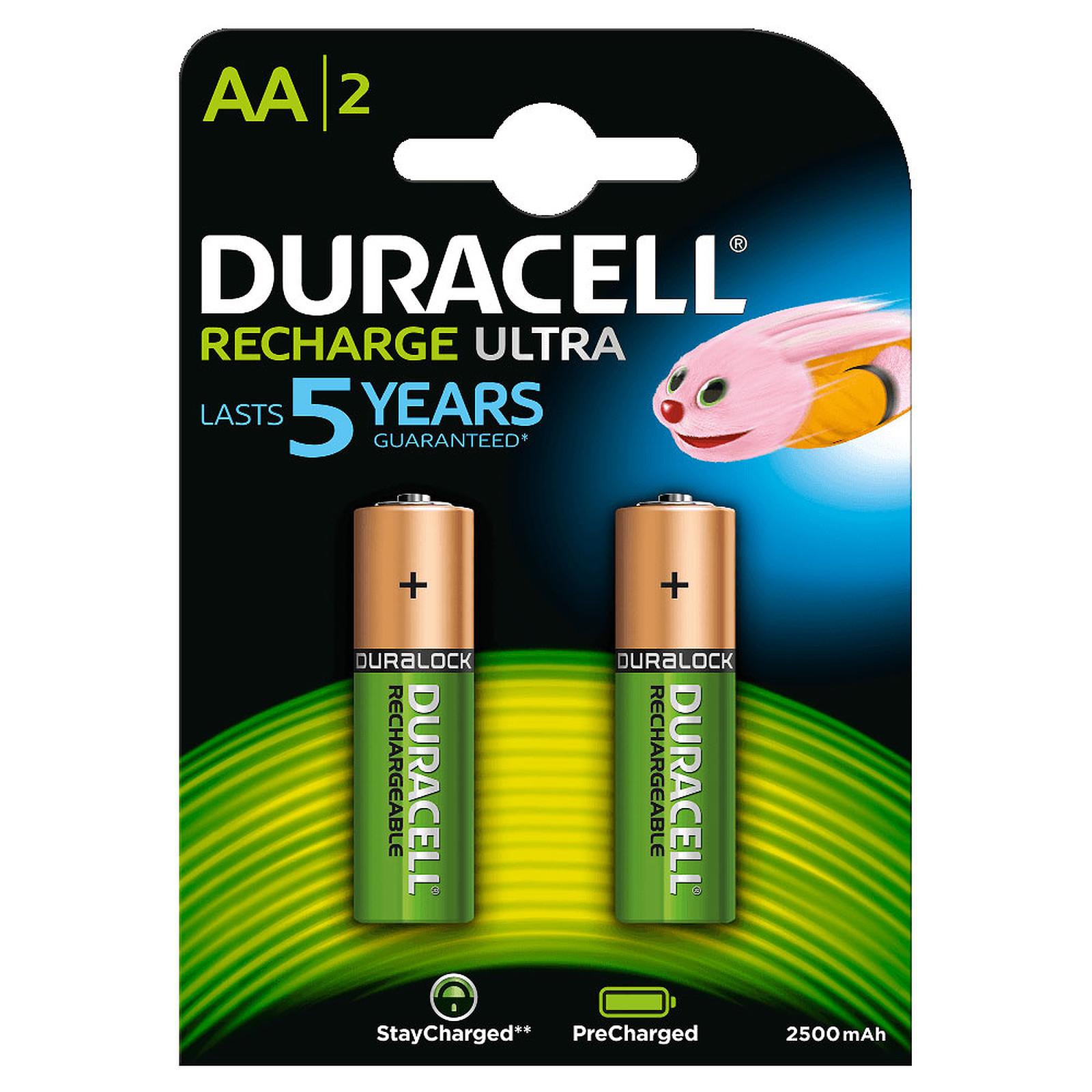 Duracell Recharge Ultra AA 2500 mAh (par 2)