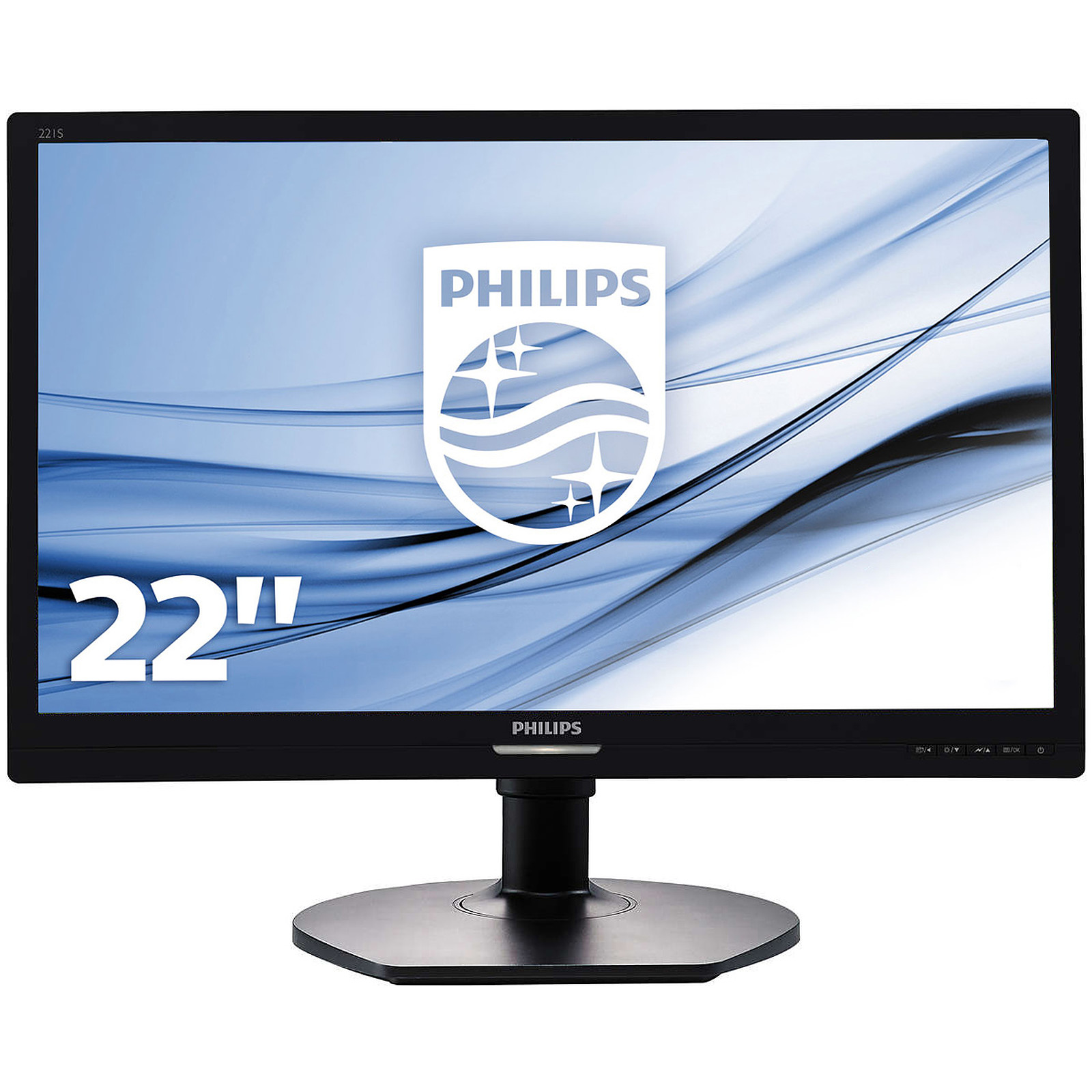 "Philips 21.5"" LED - 221S6LCB"