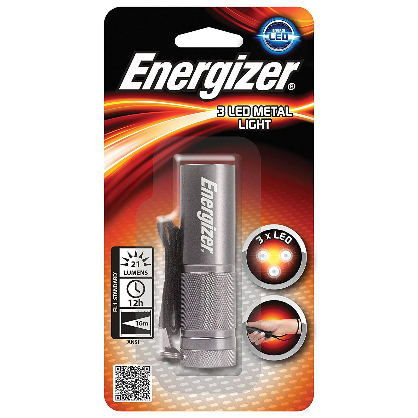 Energizer 3 LED Metal Light