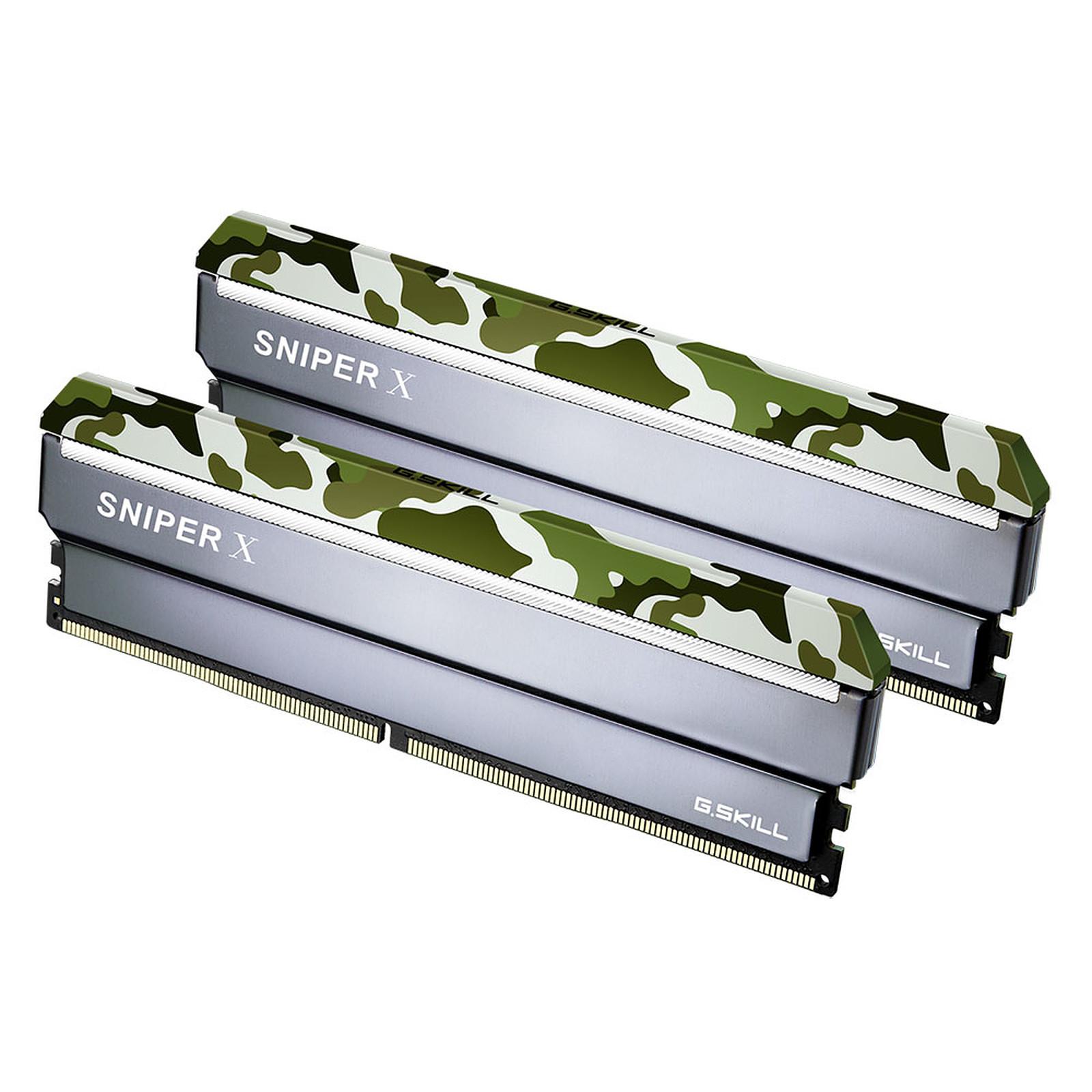 G.Skill Sniper X Series 32 Go (2x 16 Go) DDR4 3000 MHz CL16