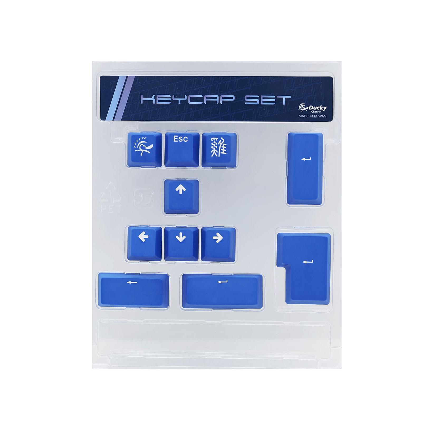 Ducky Channel ABS Keycap Set (bleu)