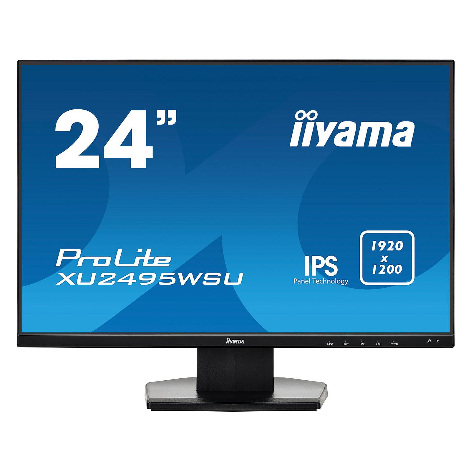 "iiyama 24"" LED - ProLite XU2495WSU-B1"
