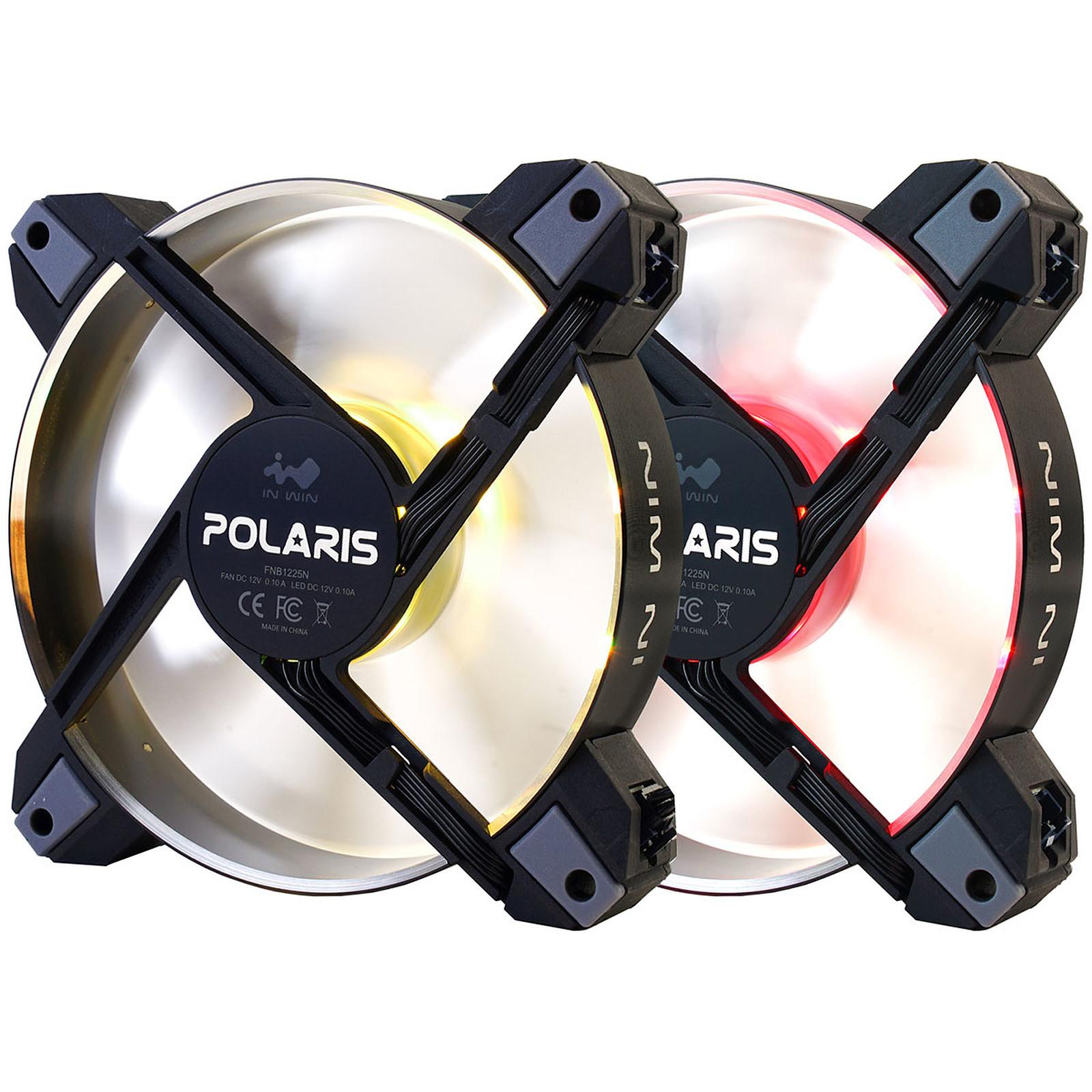 IN WIN Polaris RGB Twin Pack Aluminio