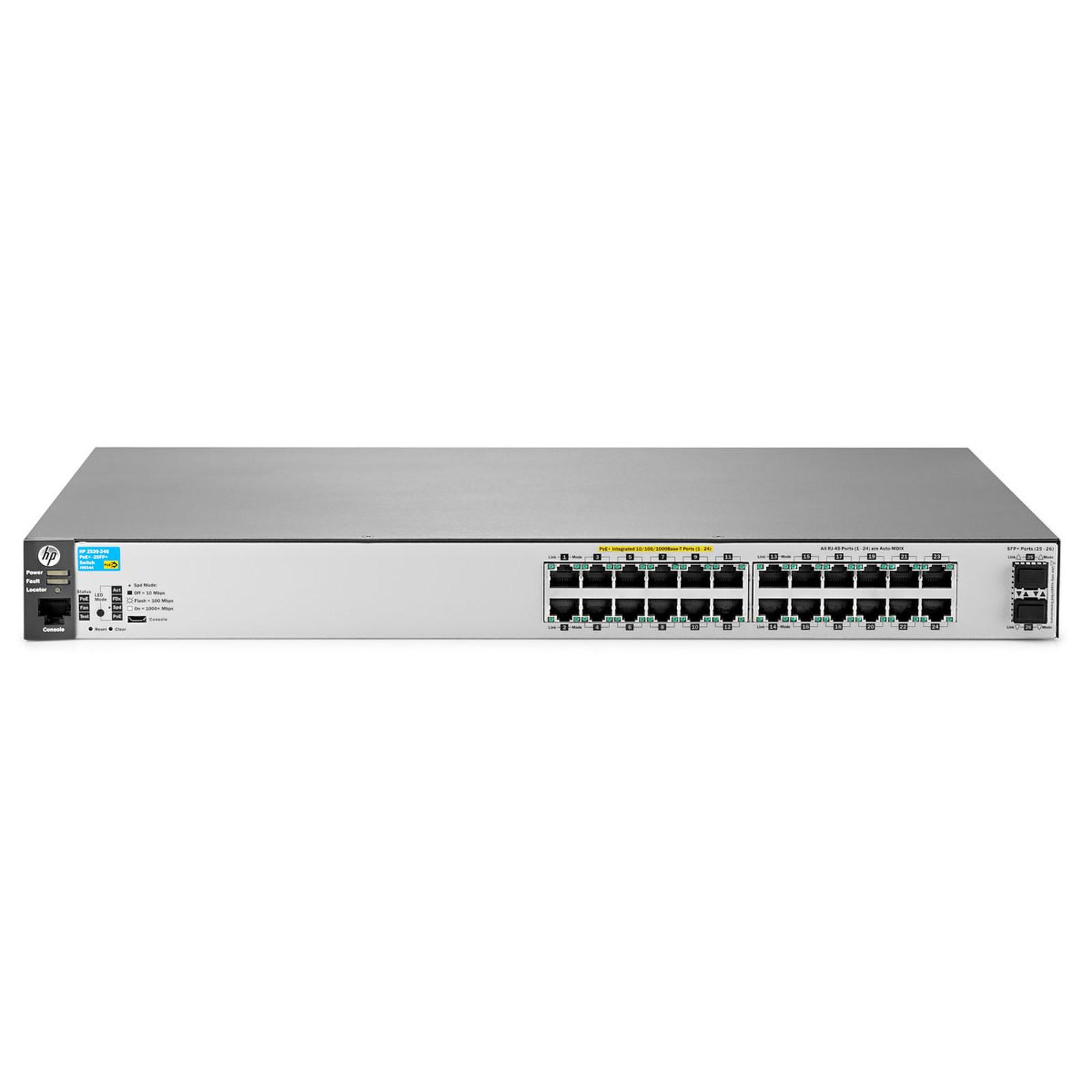 HPE Aruba 2530-24G-PoE+ avec 2 ports SFP+