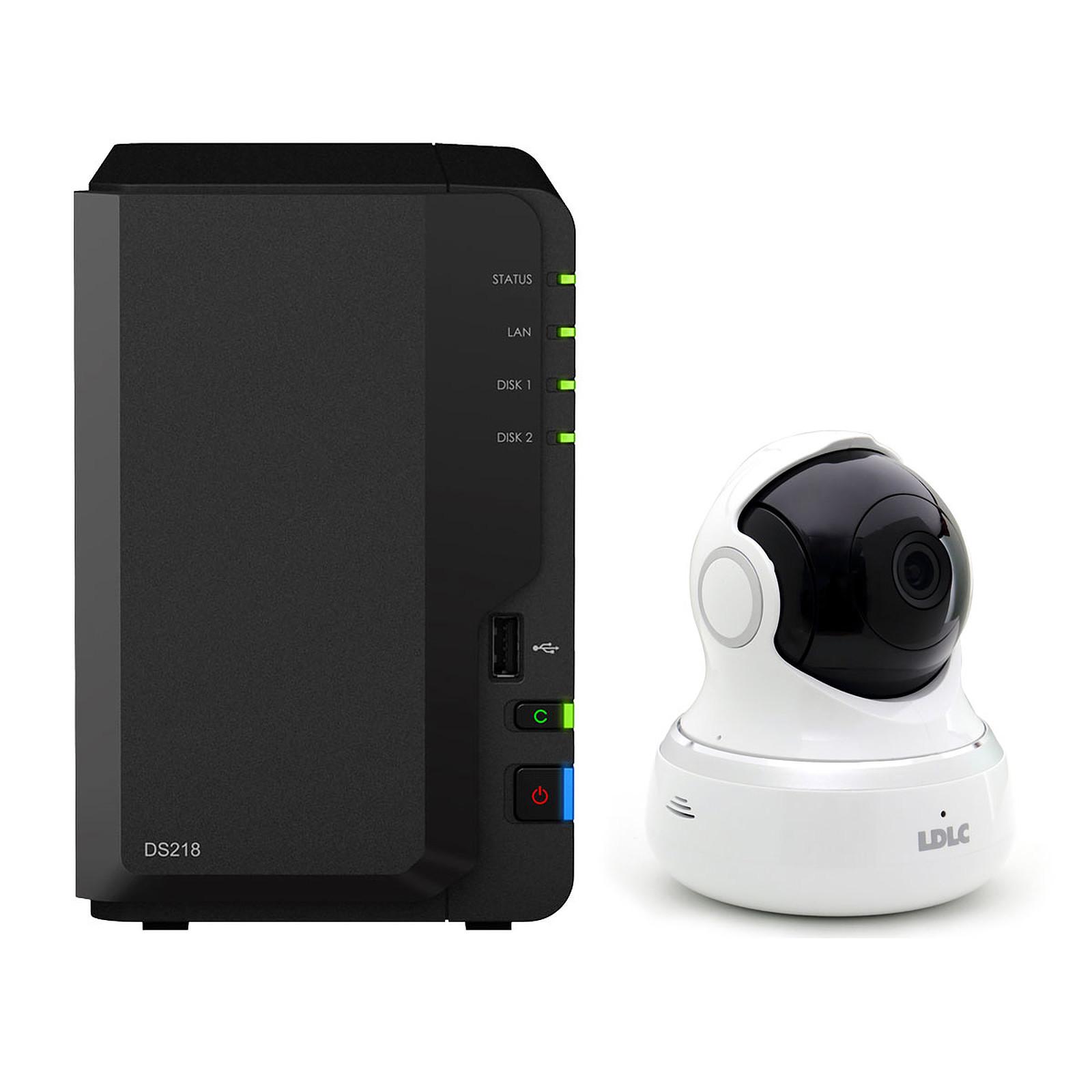 Synology DiskStation DS218 avec caméra LDLC C6B