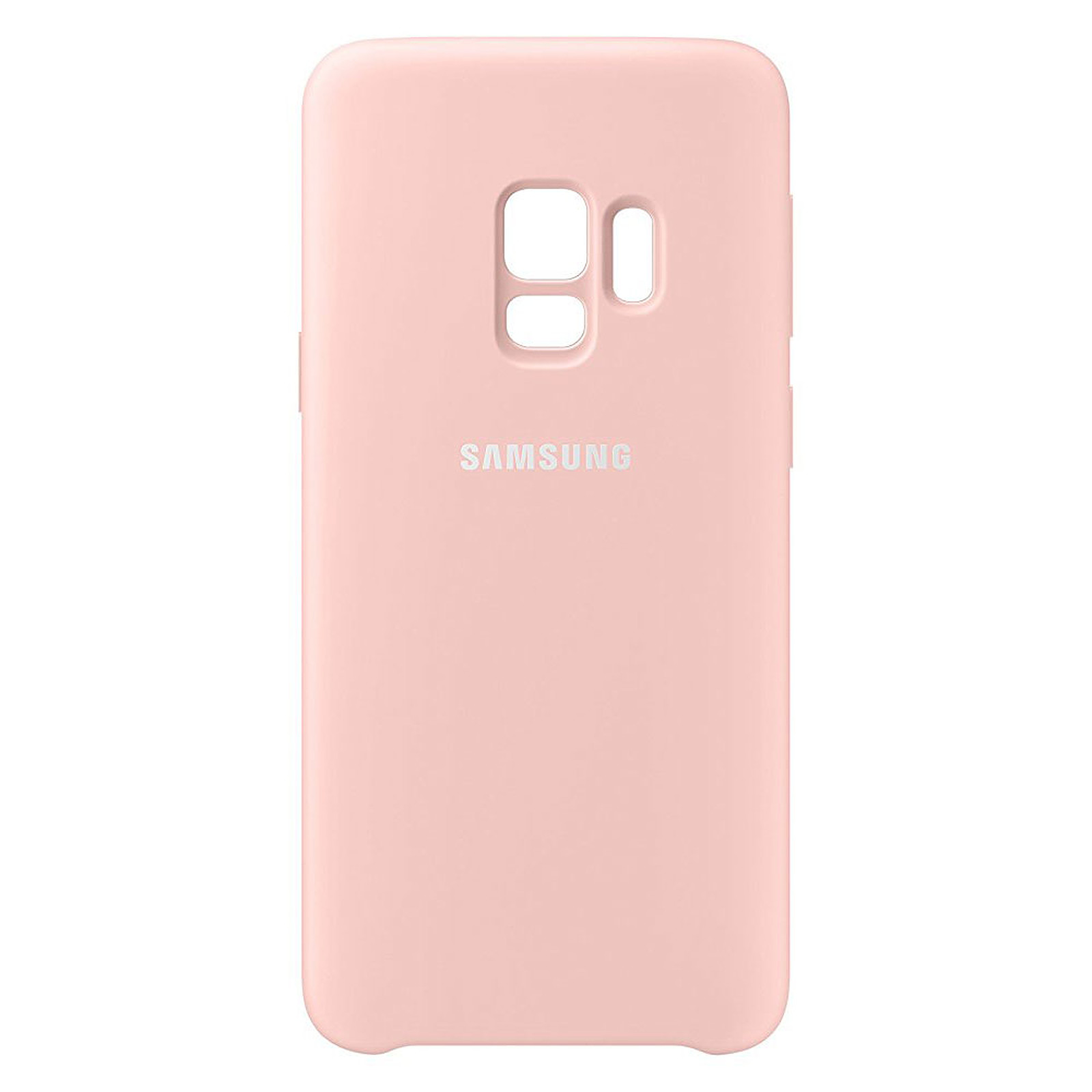 Samsung Coque Silicone Rose Galaxy S9