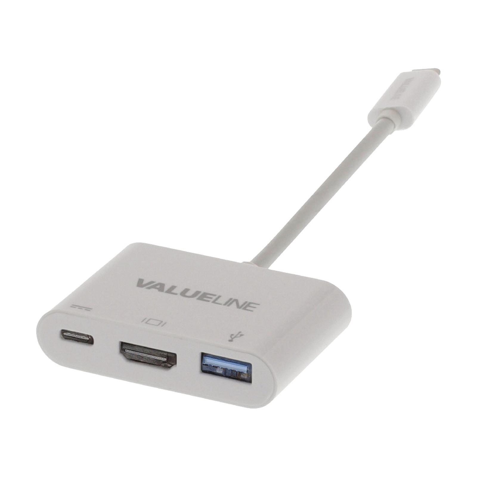 Valueline Adaptateur USB 3.1 vers USB / USB-C / HDMI