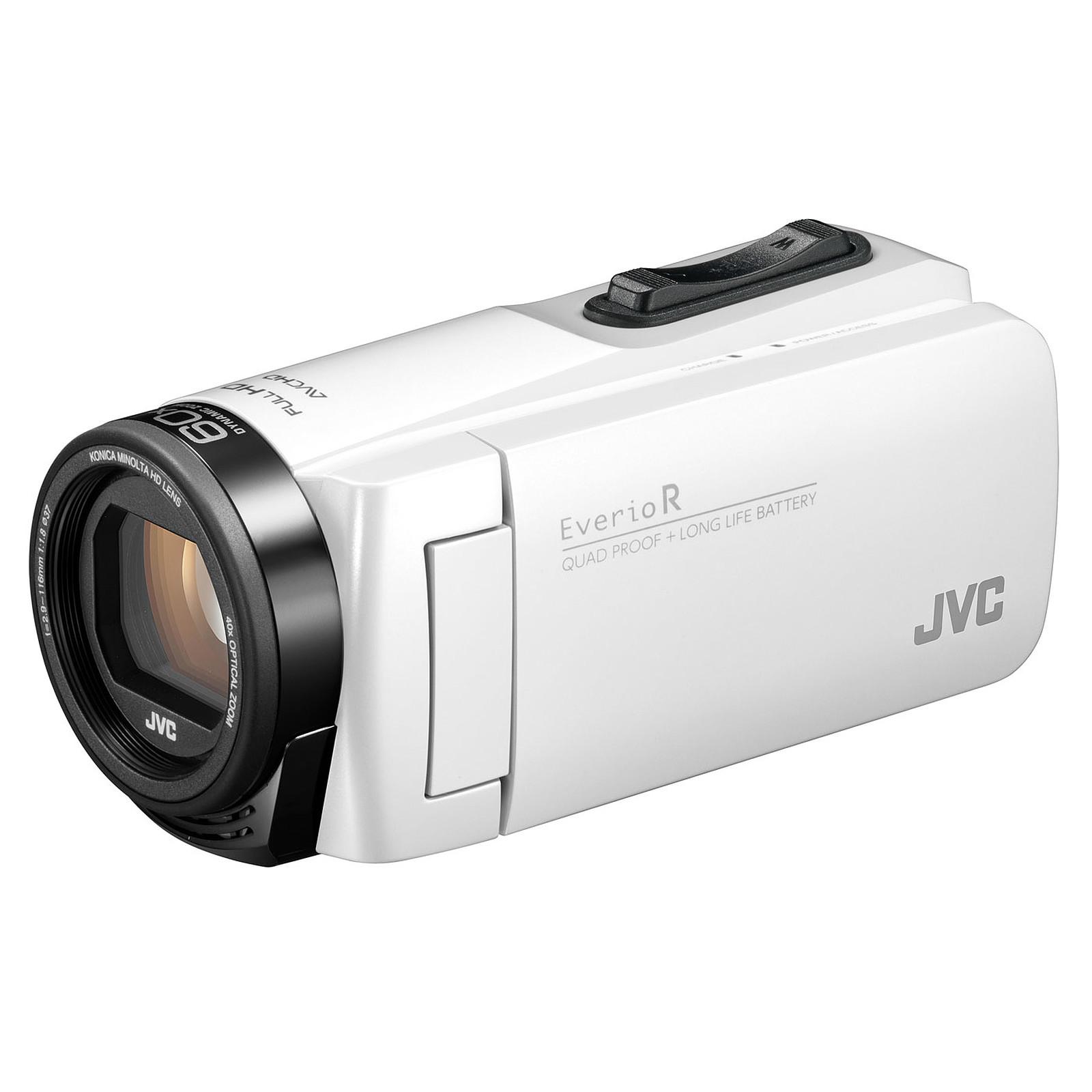 JVC GZ-R495 Blanc + carte mémoire SD 16 Go