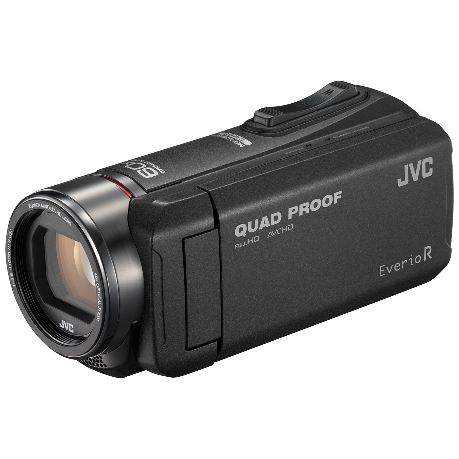 JVC GZ-R405 Noir + carte mémoire SD 8 Go