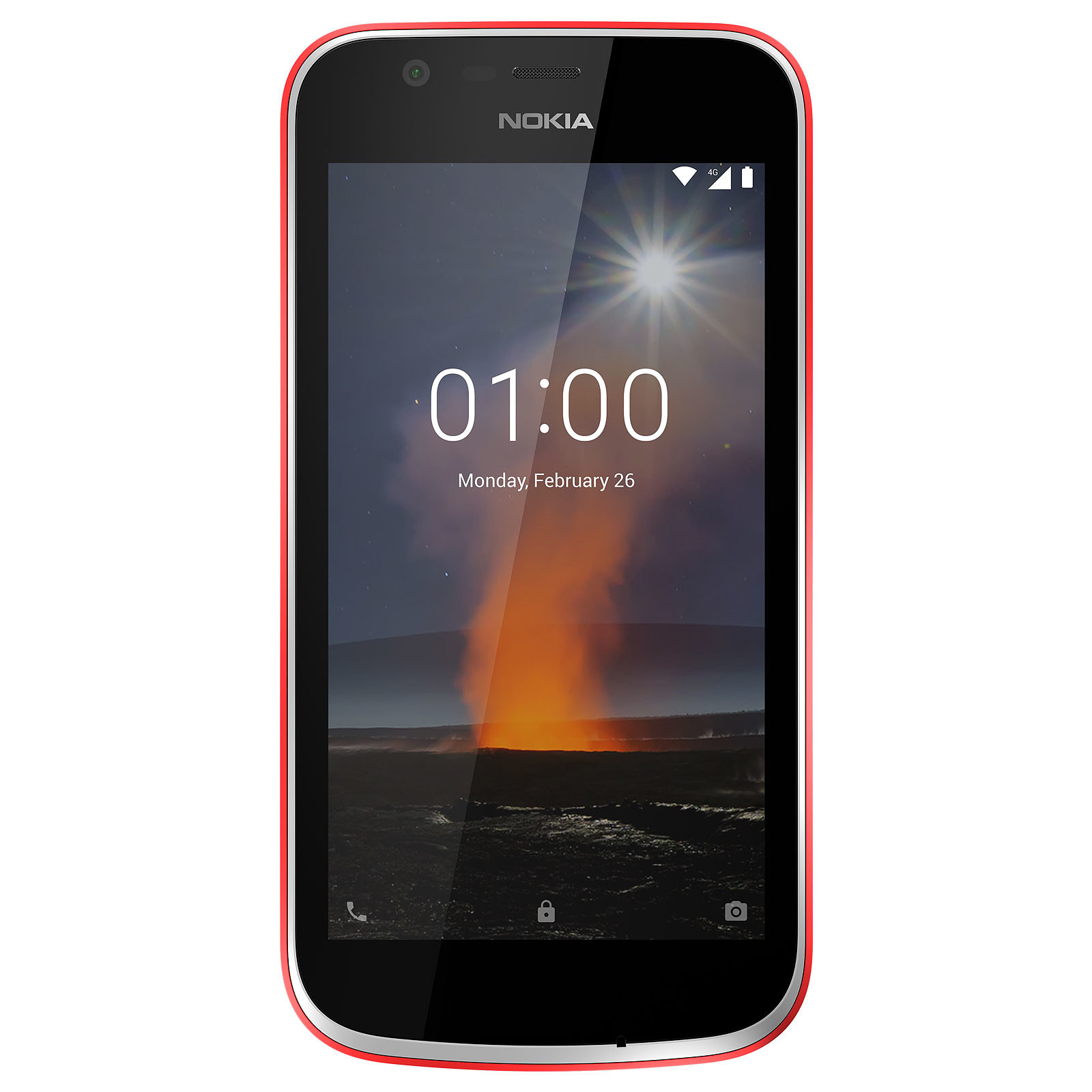 Nokia 1 Rojo