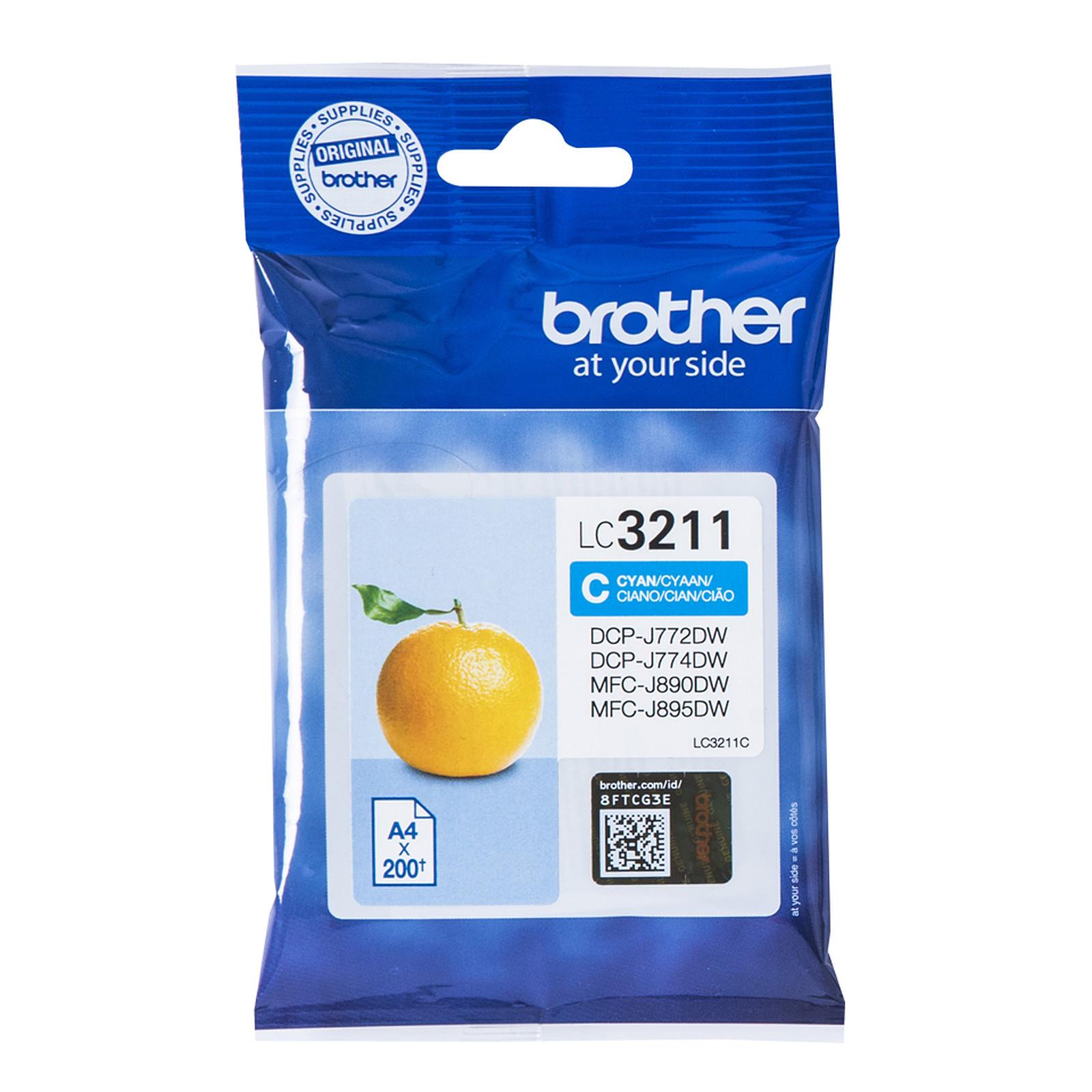 Brother LC3211C (Cyan)
