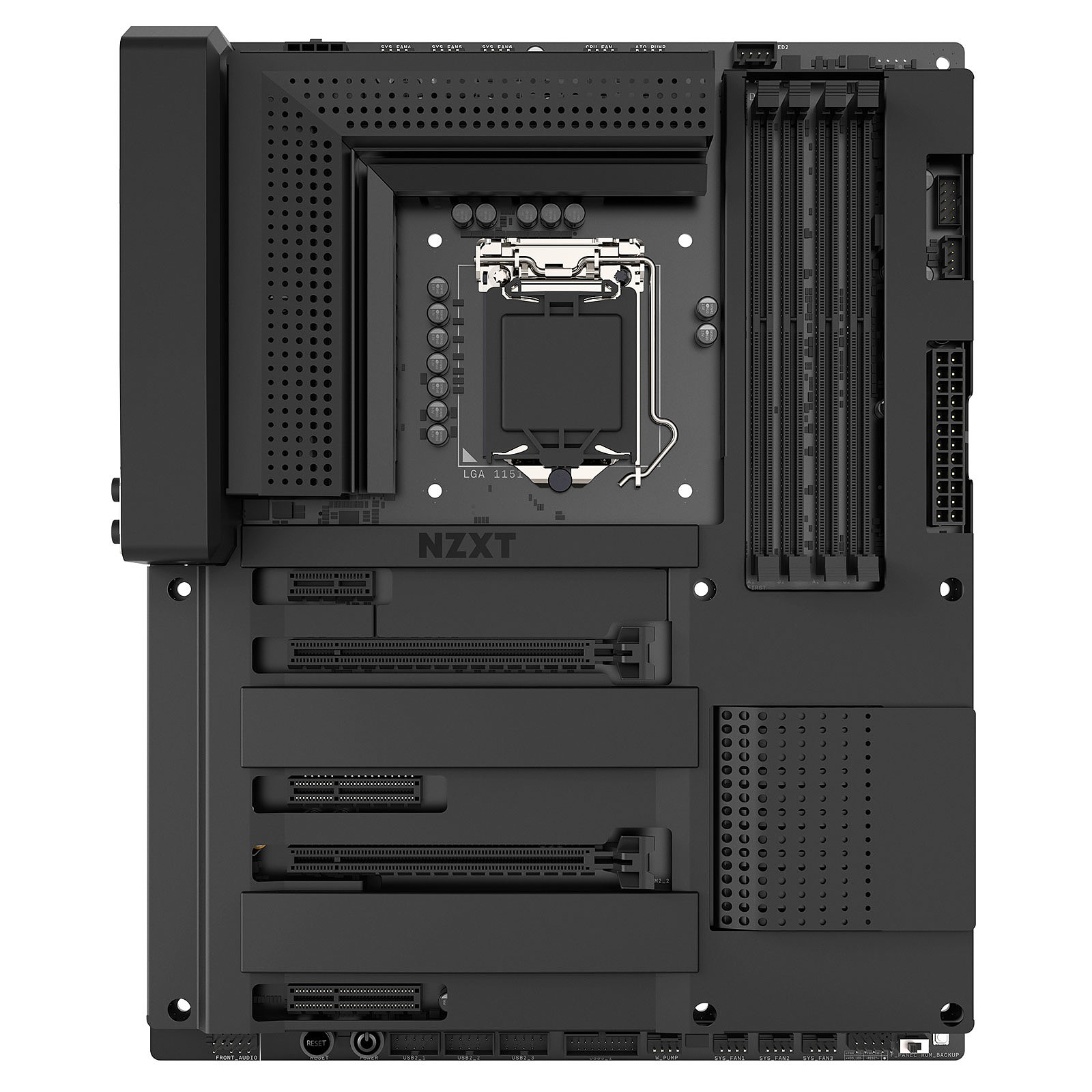 NZXT N7 Z370 - Negro