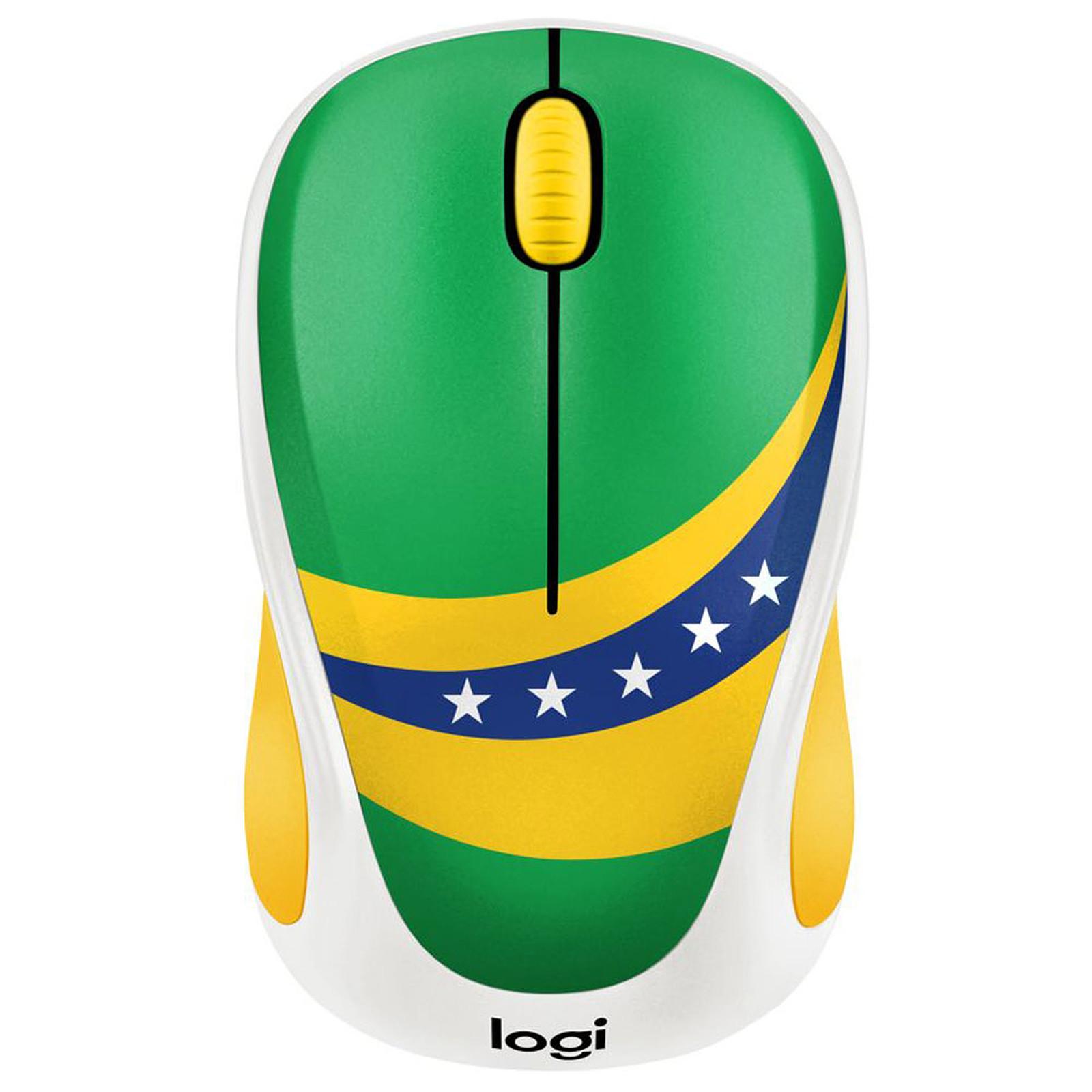 Logitech M238 Wireless Mouse Fan Collection Brésil