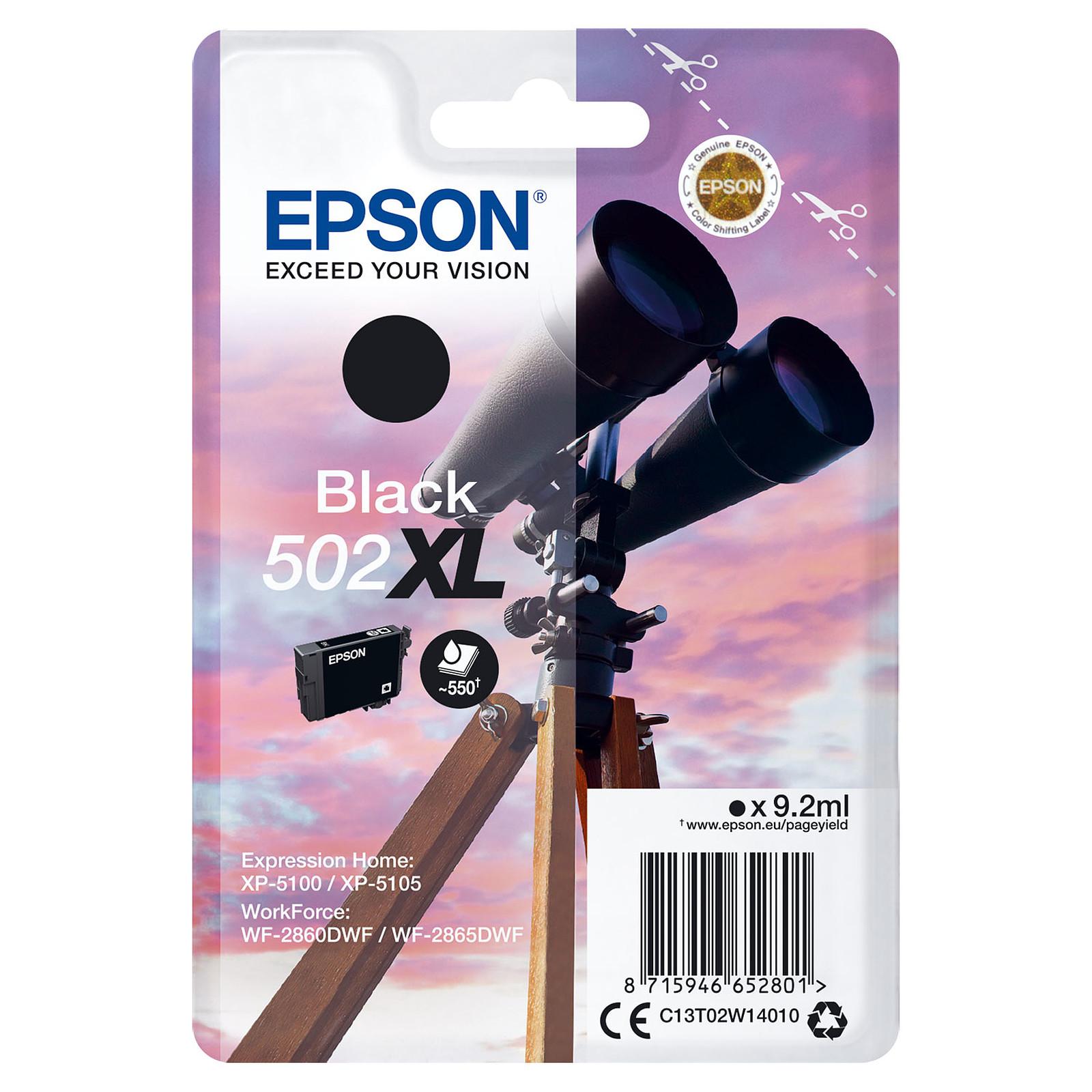Epson Jumelles 502XL Noir