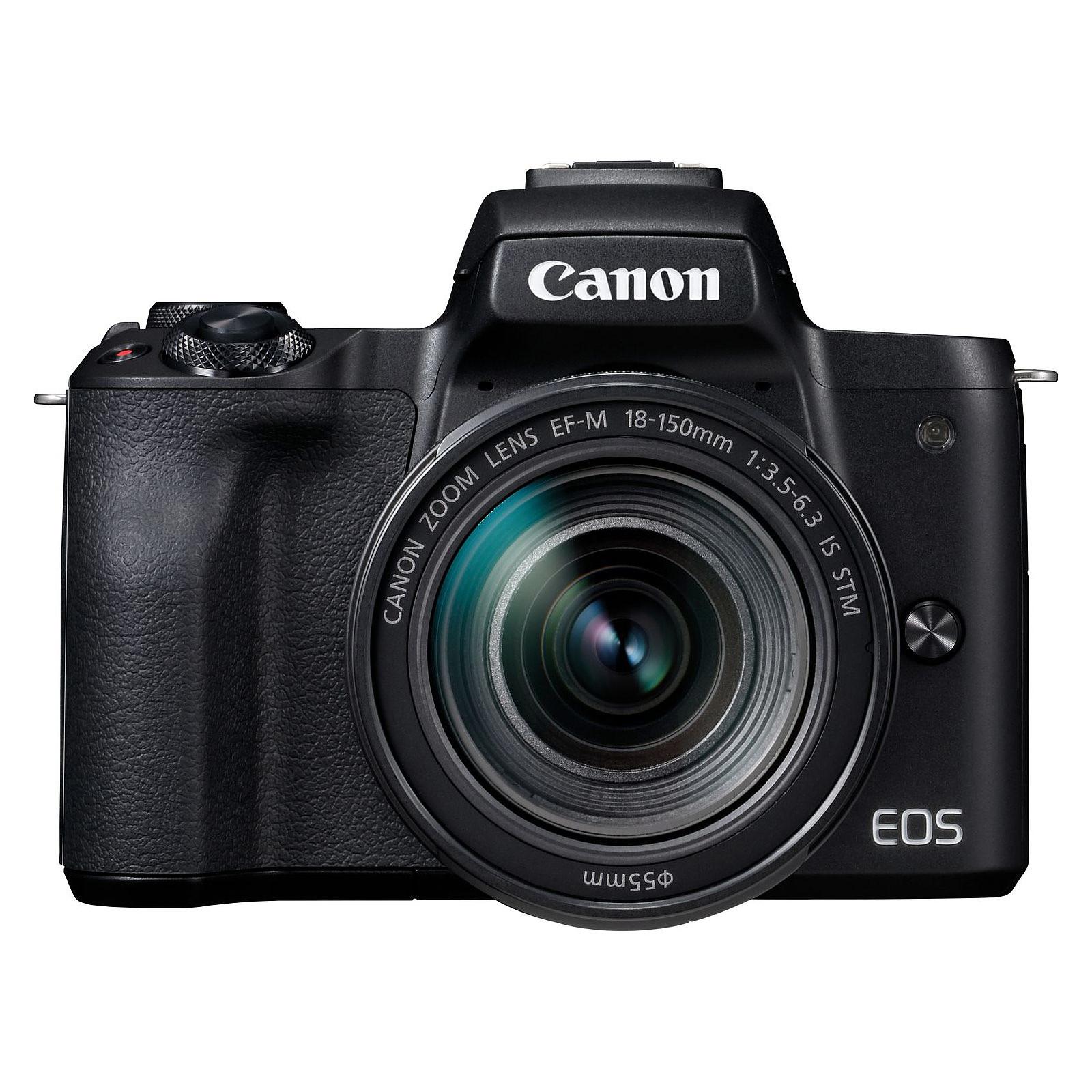 Canon EOS M50 Noir + EF-M 18-150 mm IS STM