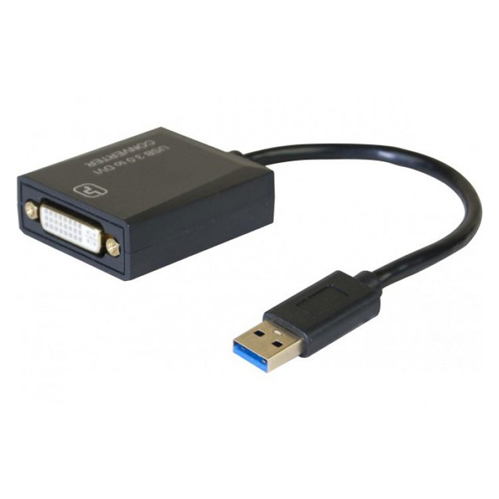 Adaptateur DVI-I sur USB 3.0
