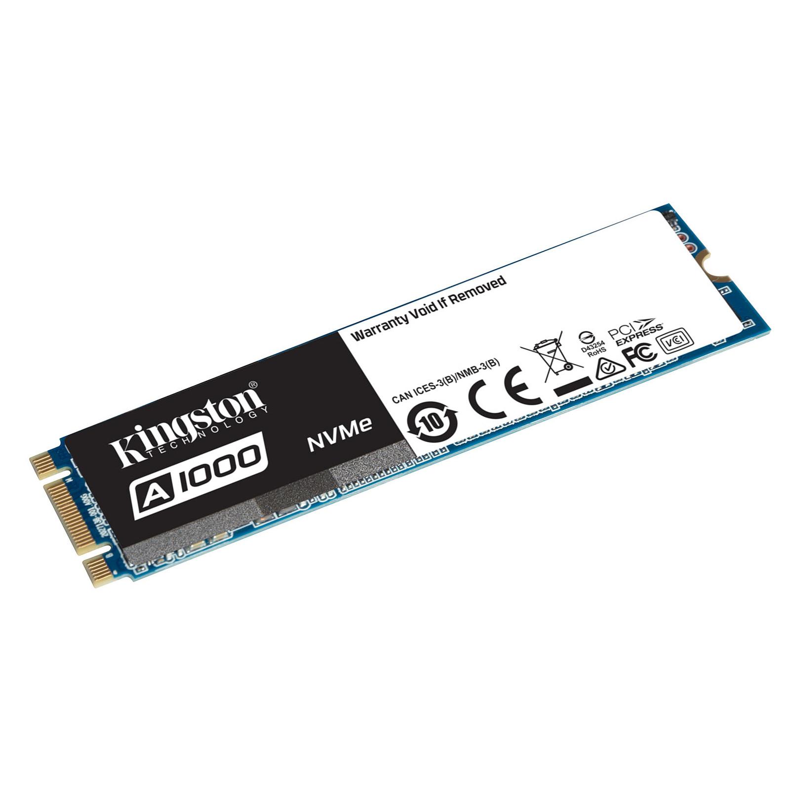 Kingston A1000 M.2 PCIe NVMe 480 Go