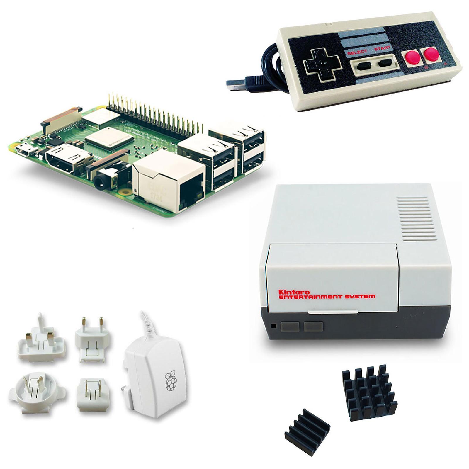 Raspberry Pi 3+ Retrogaming Kit (NES)