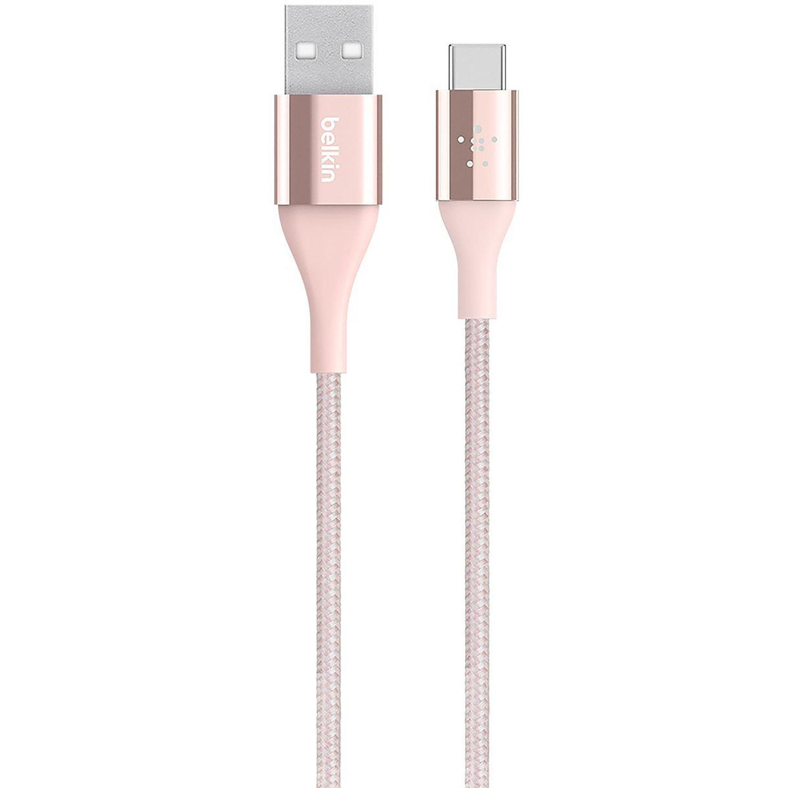 Belkin Câble Mixit Duratek USB-A vers USB-C Rose
